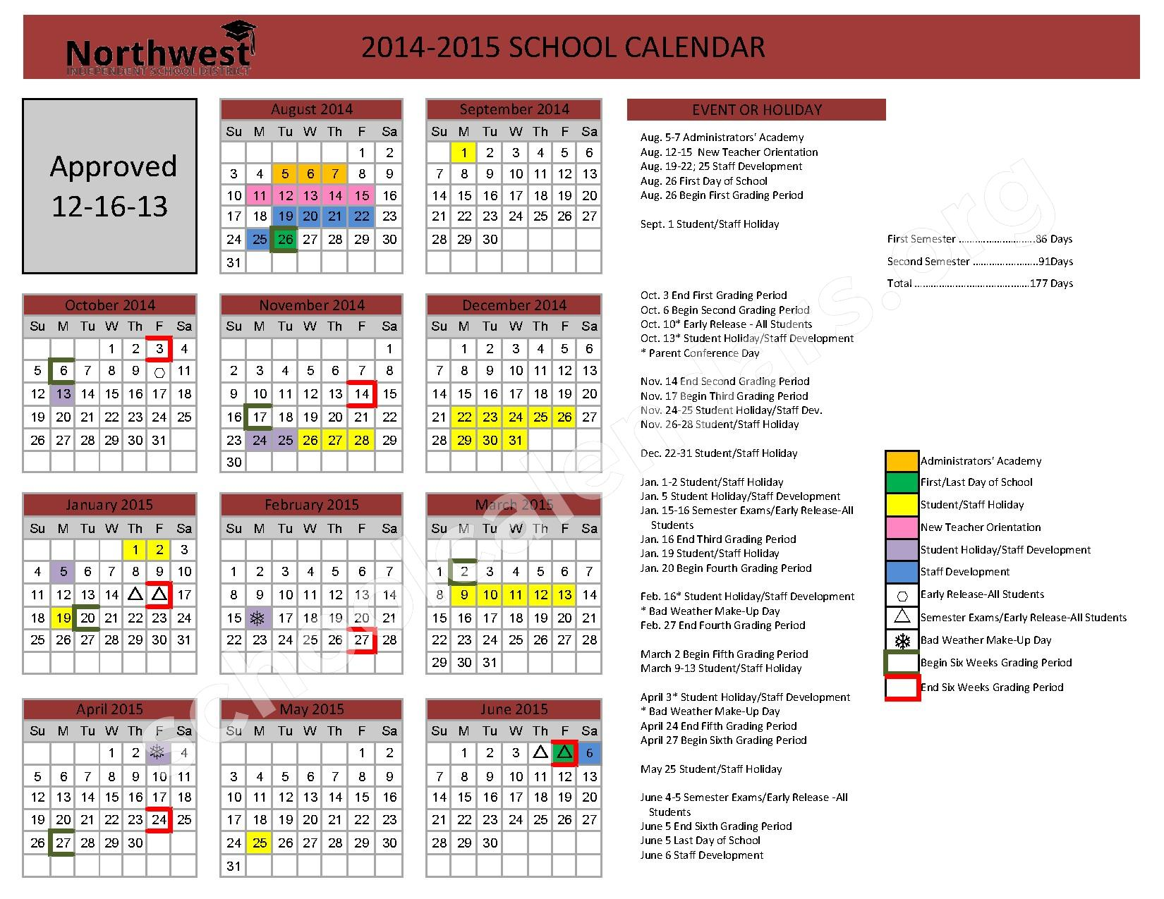 Keller Isd Calendar | Calendar