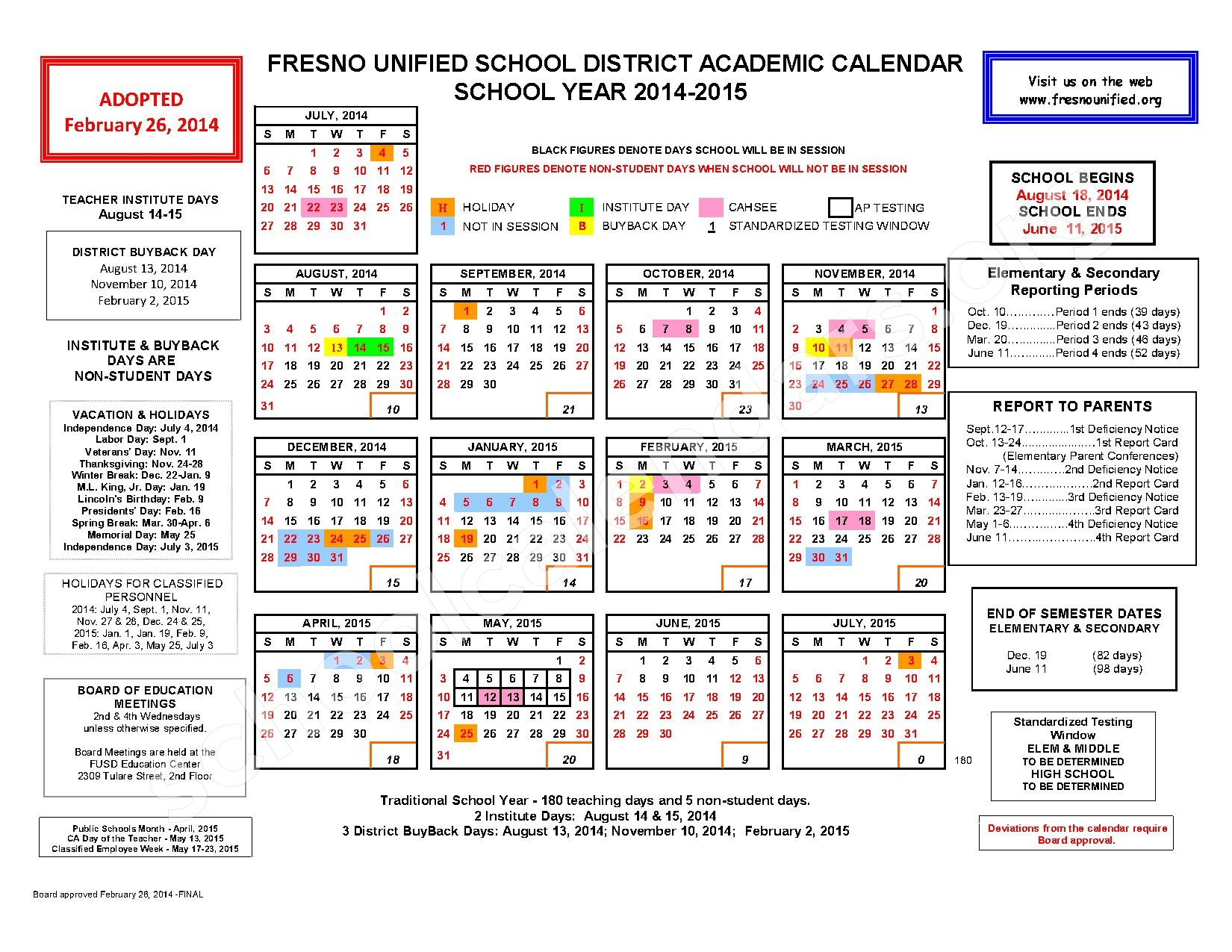 calendars 2015 2016 district calendar 2014 2015 district calendar