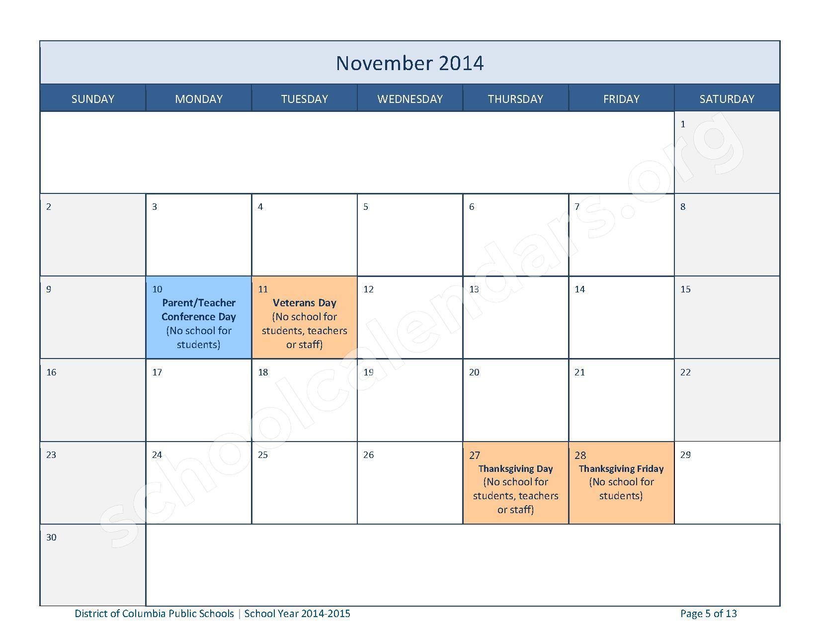 calendar english version download the dcps assessment calendar ...