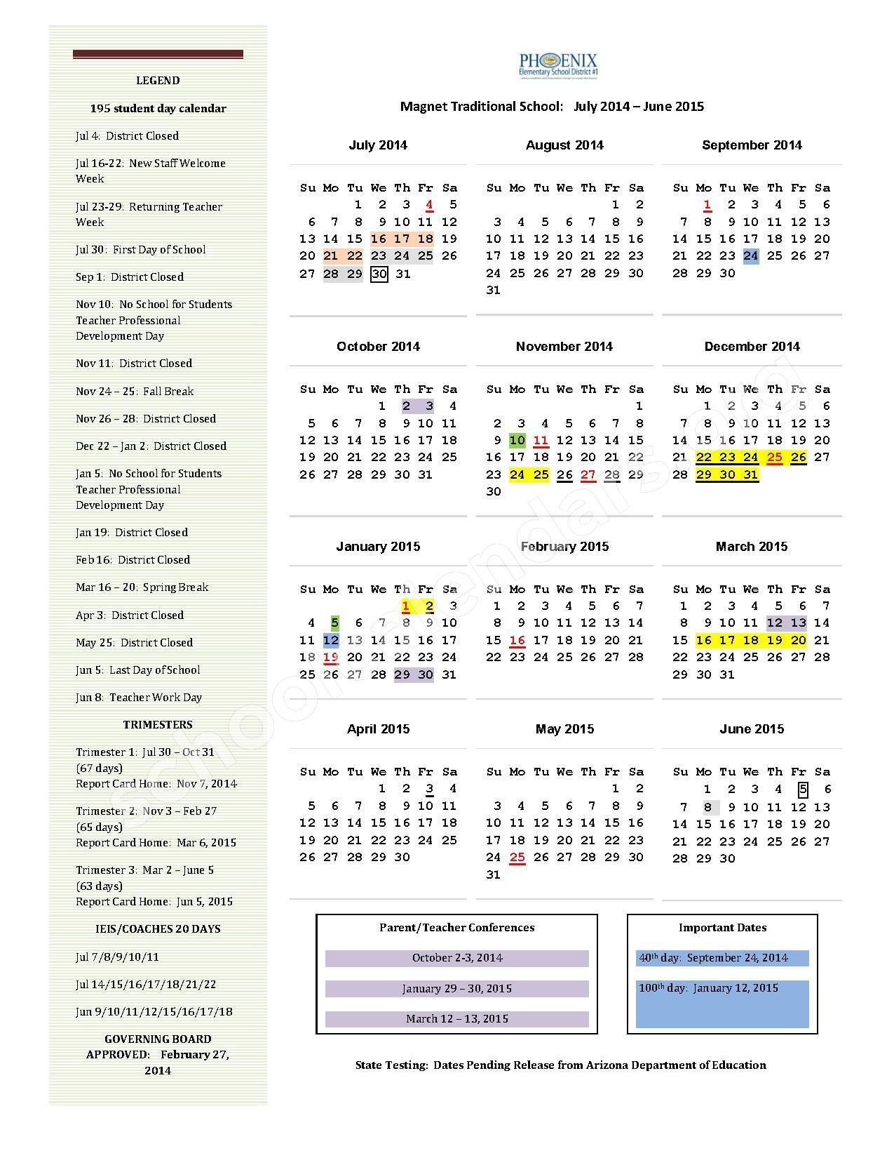 District Calendar 2015 2016 Calendar Template 2016. Illinois School  District Calendar