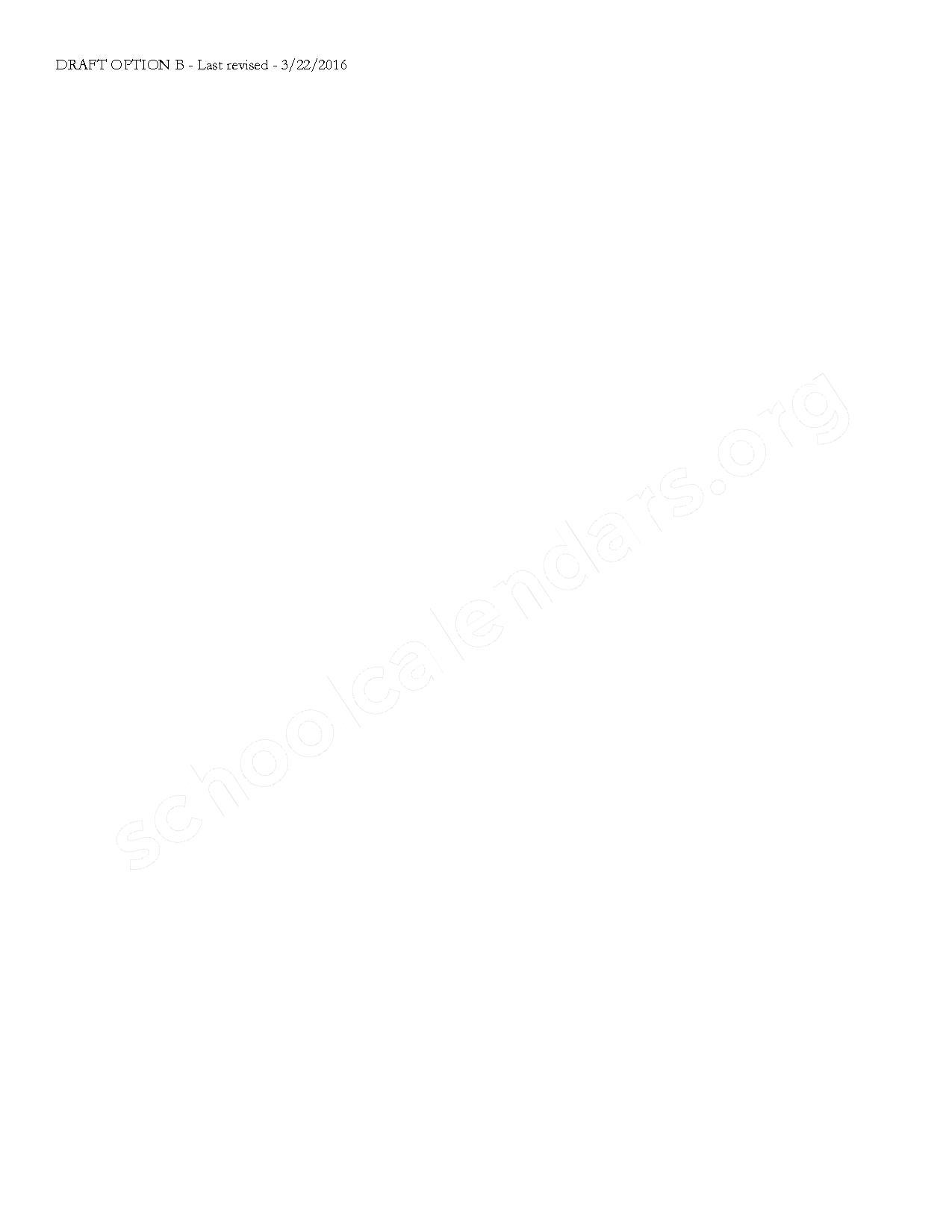2016 - 2017 School Calendar – Scranton School District – page 2