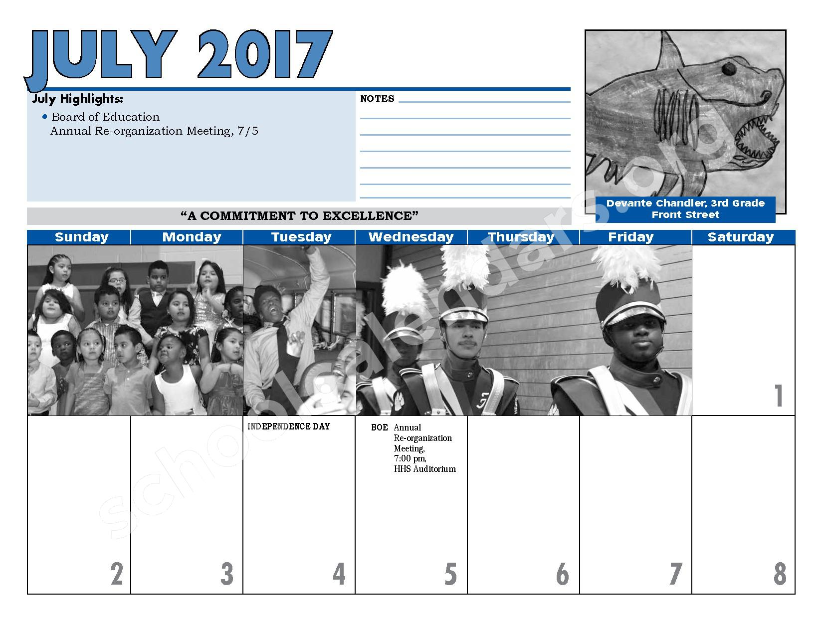 2016 - 2017 District Calendar – Hempstead Union Free School District – page 28