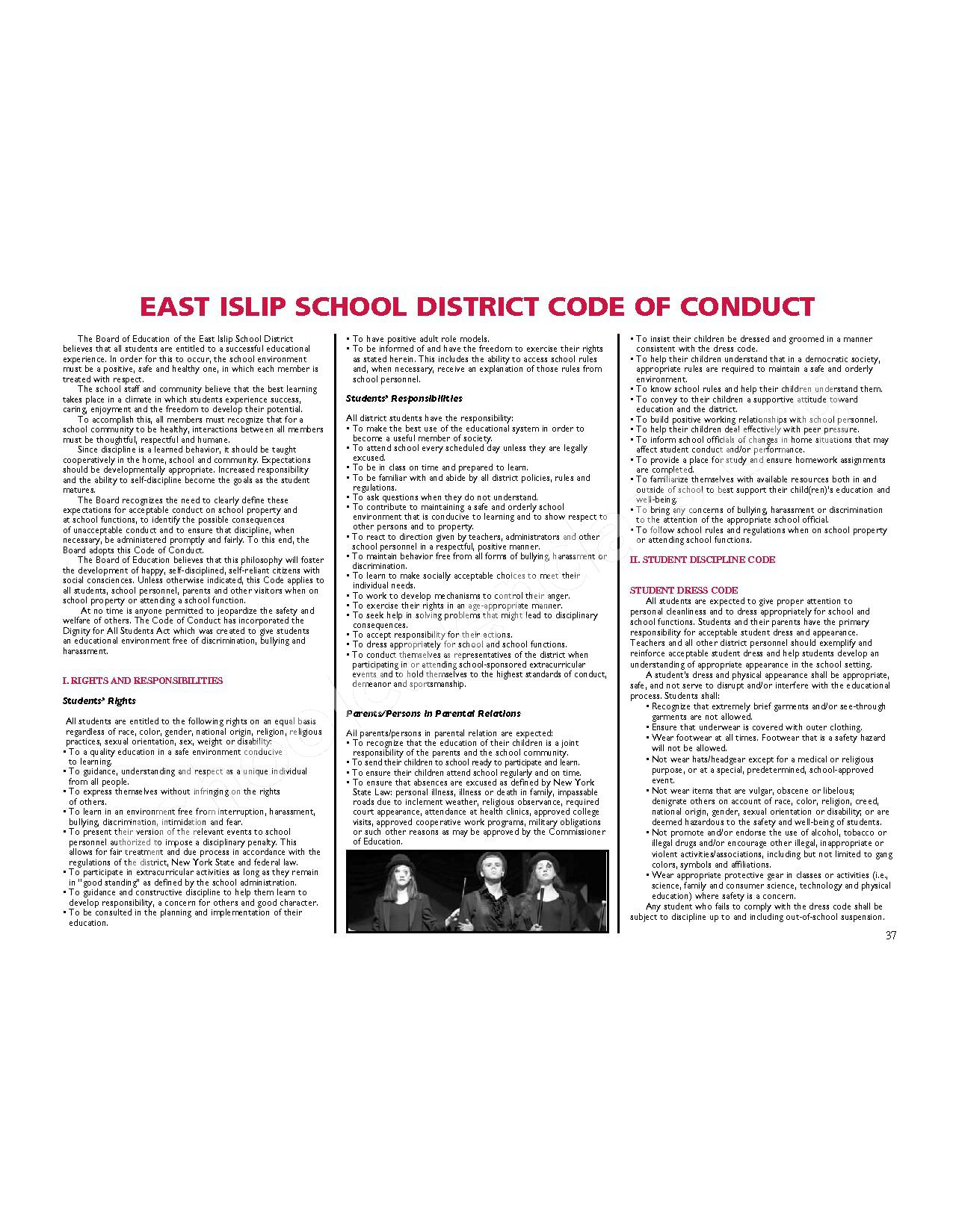 2016 - 2017 District Calendar – East Islip Union Free School District – page 38