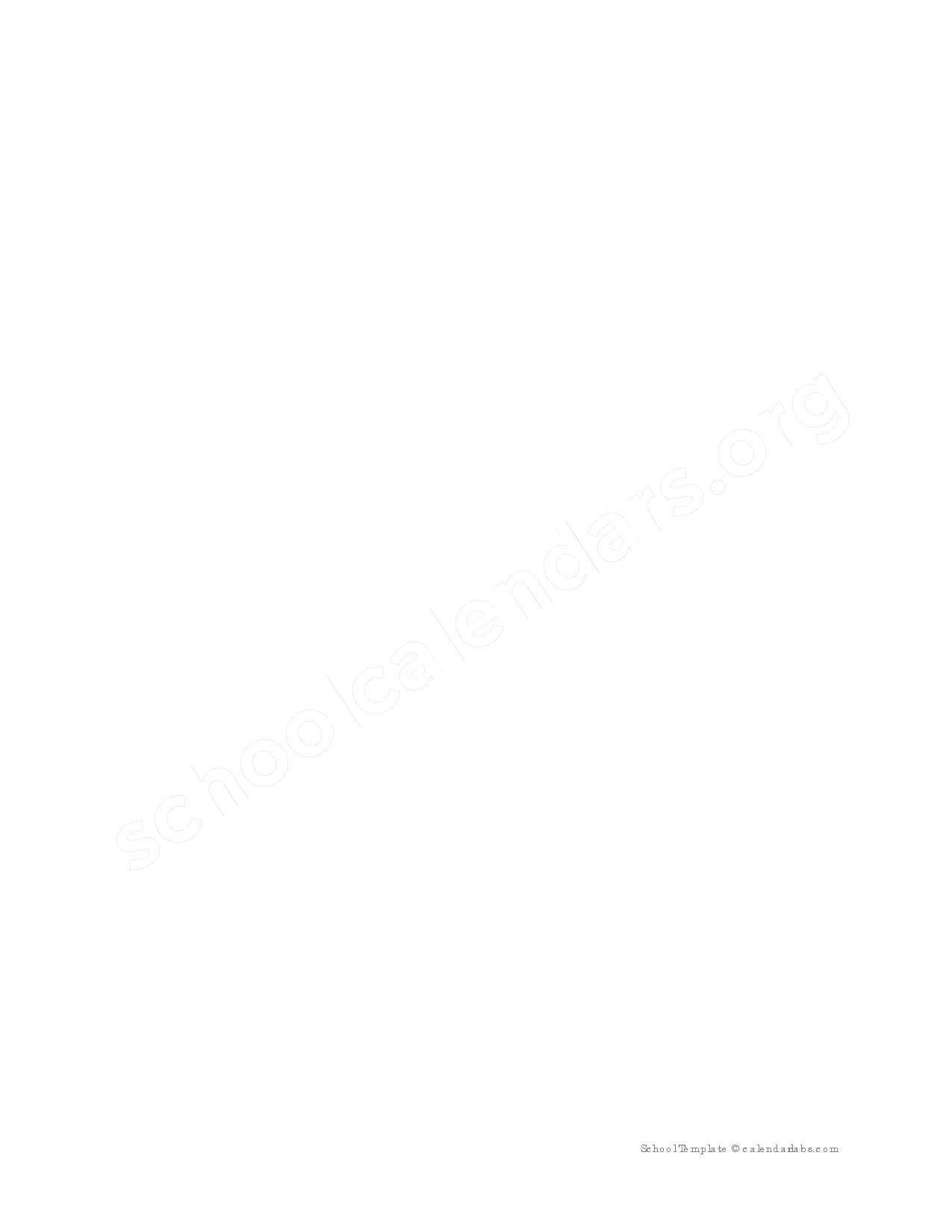 2016 - 2017 Pre-K Calendar – Jonesboro Middle School – page 2
