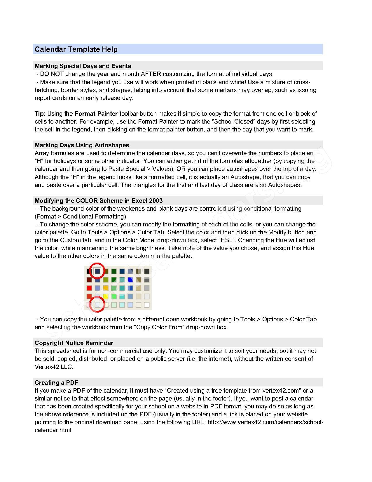 2016 - 2017 School Calendar – Cabarrus County Schools – page 2