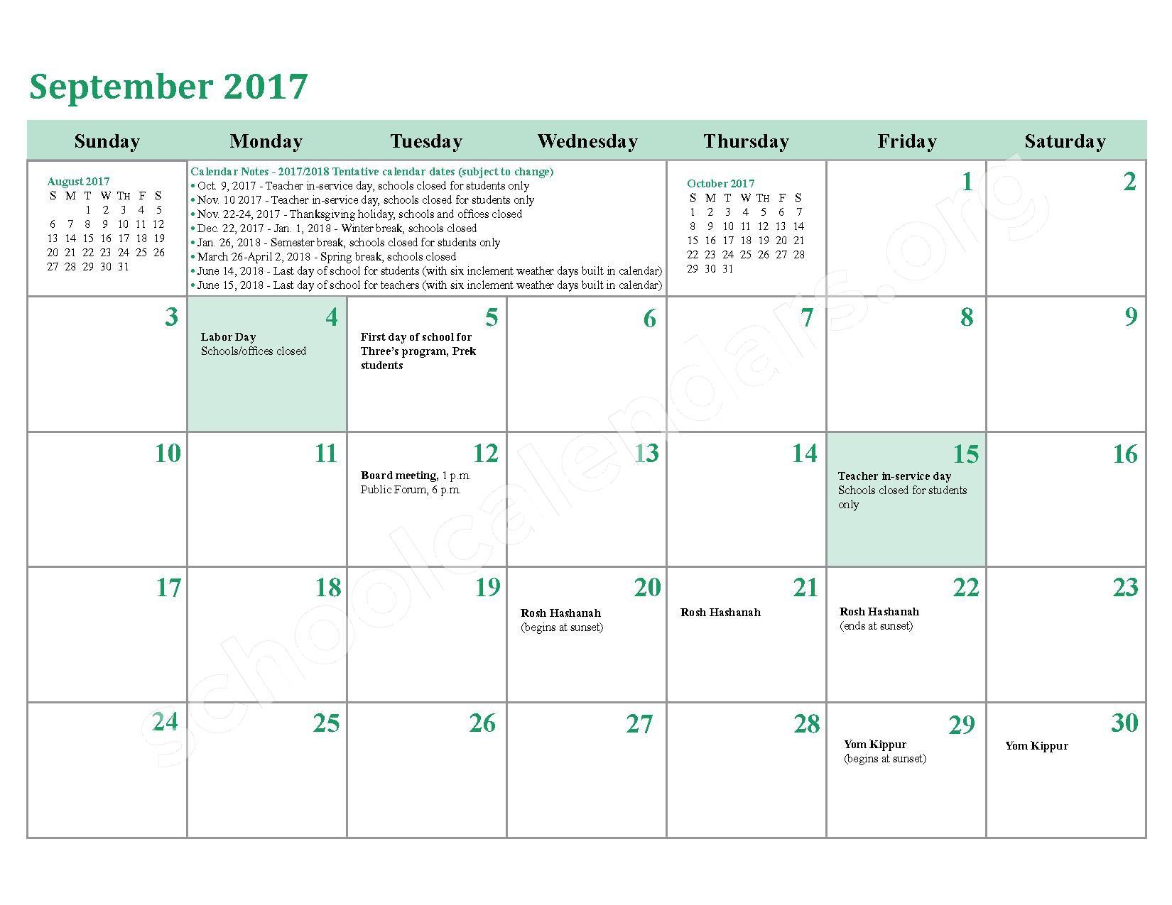 2016 - 2017 School Calendar – Charles County Public Schools – page 30