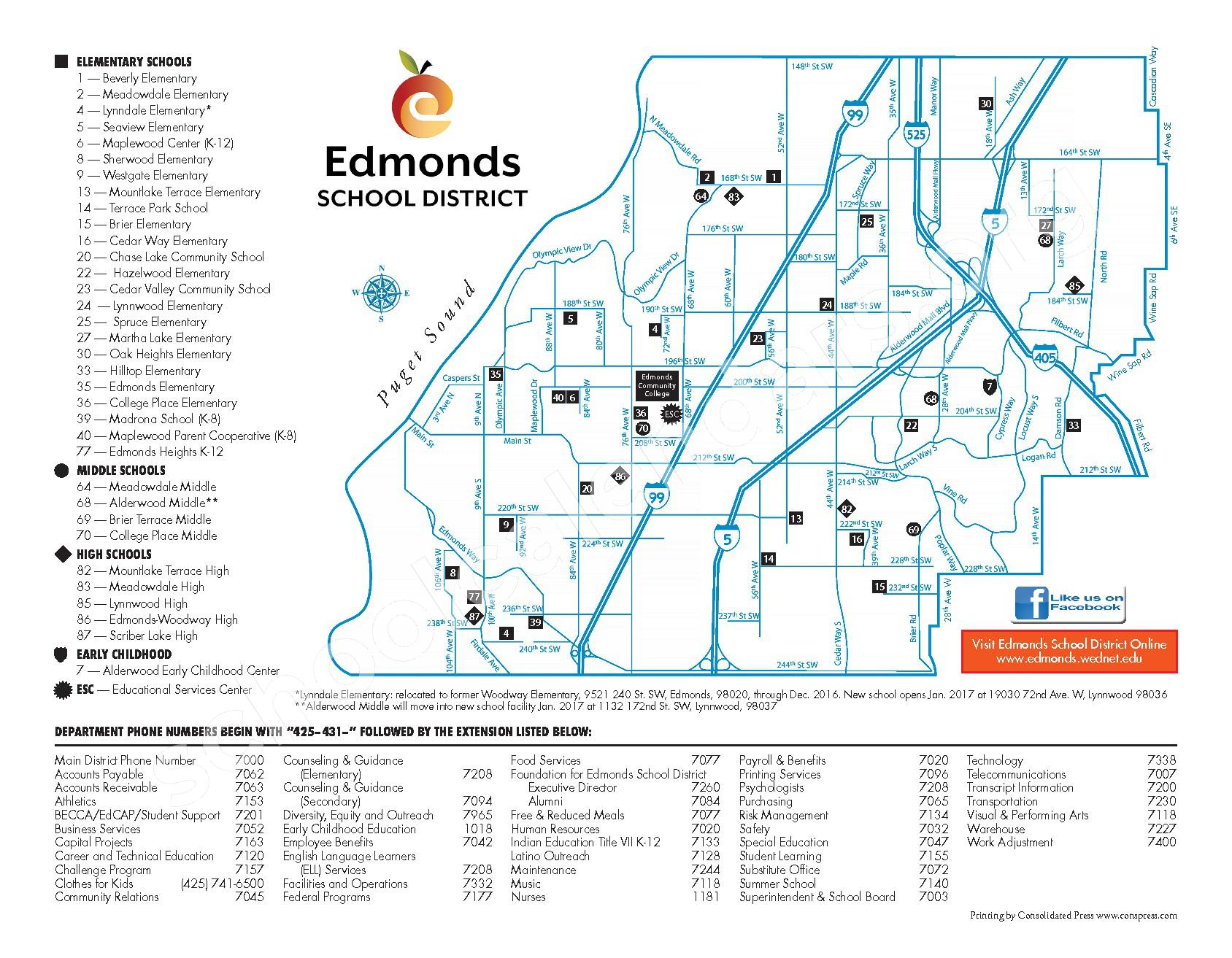 2016 - 2017 ESD Calendar and Parent Handbook – College Place Elementary School – page 42