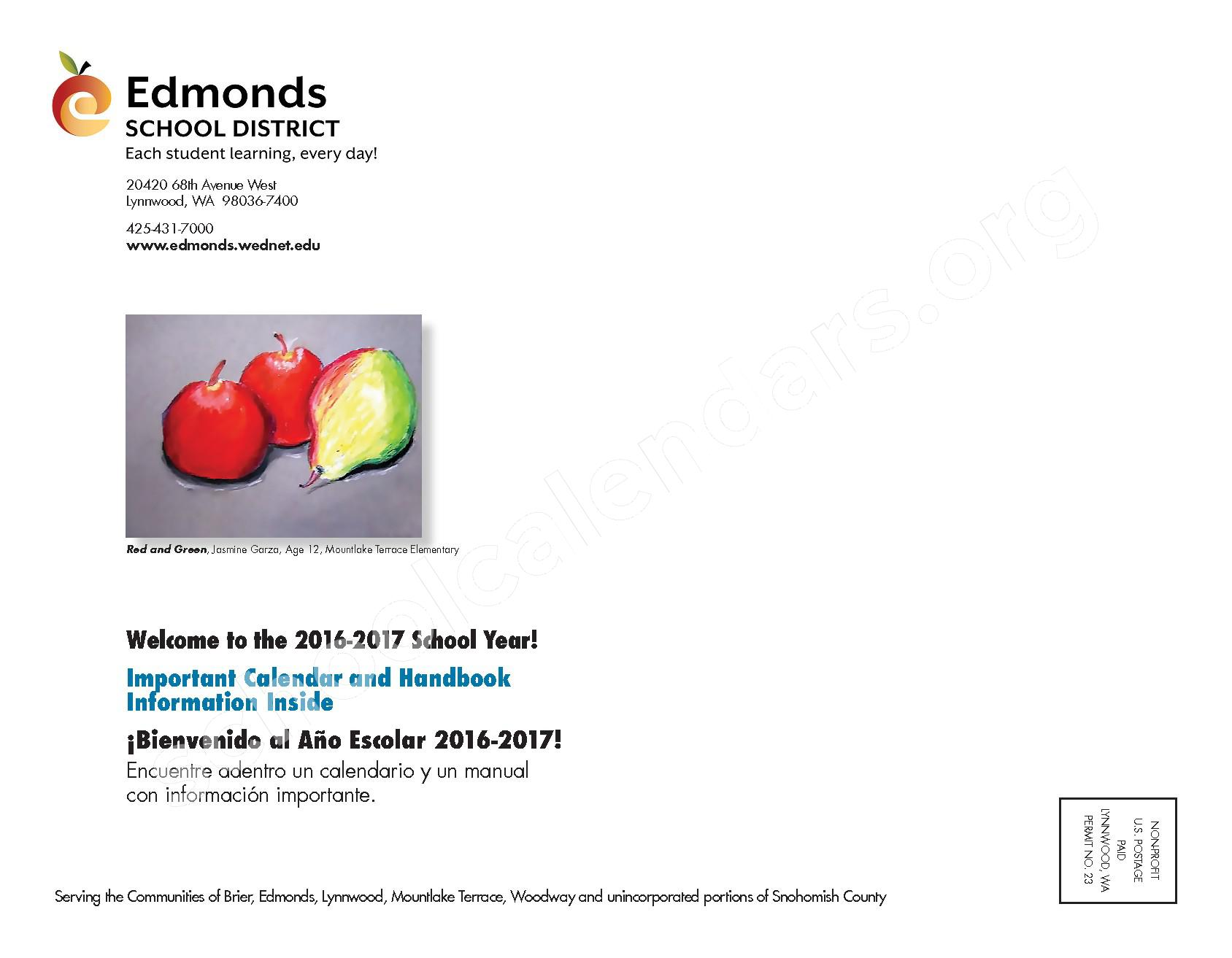 2016 - 2017 ESD Calendar and Parent Handbook – College Place Elementary School – page 44