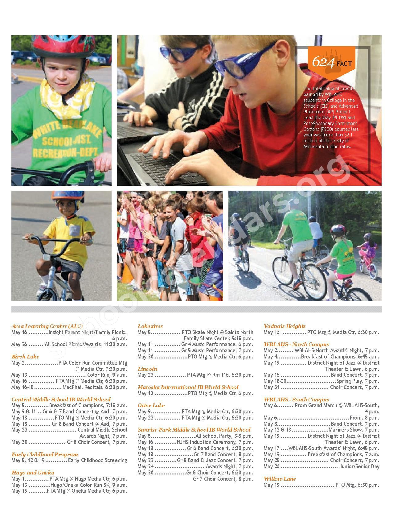 2016 - 2017 Handbook   White Bear Lake School District
