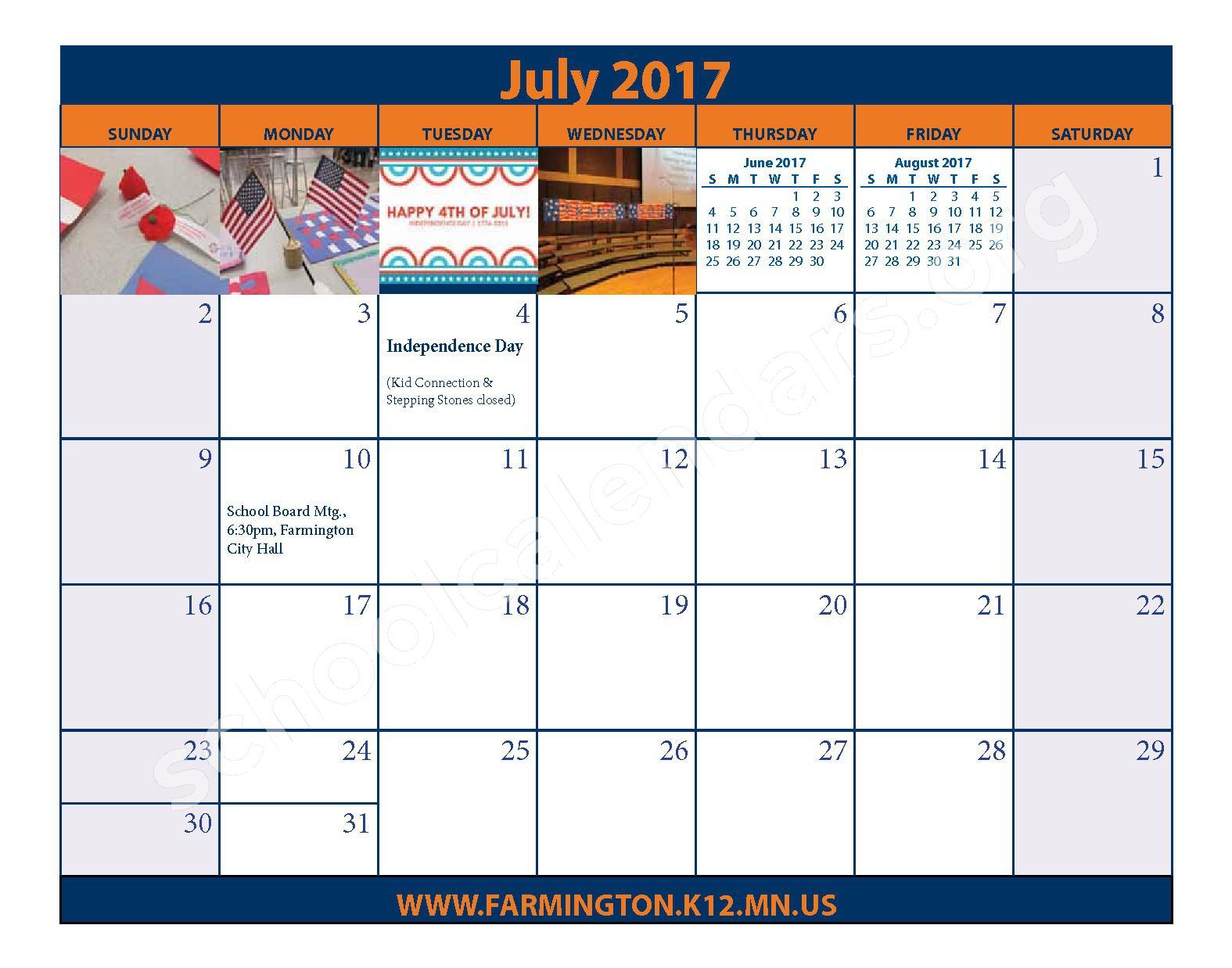 2016 - 2017 District Calendar & Handbook – Farmington Public School District – page 26