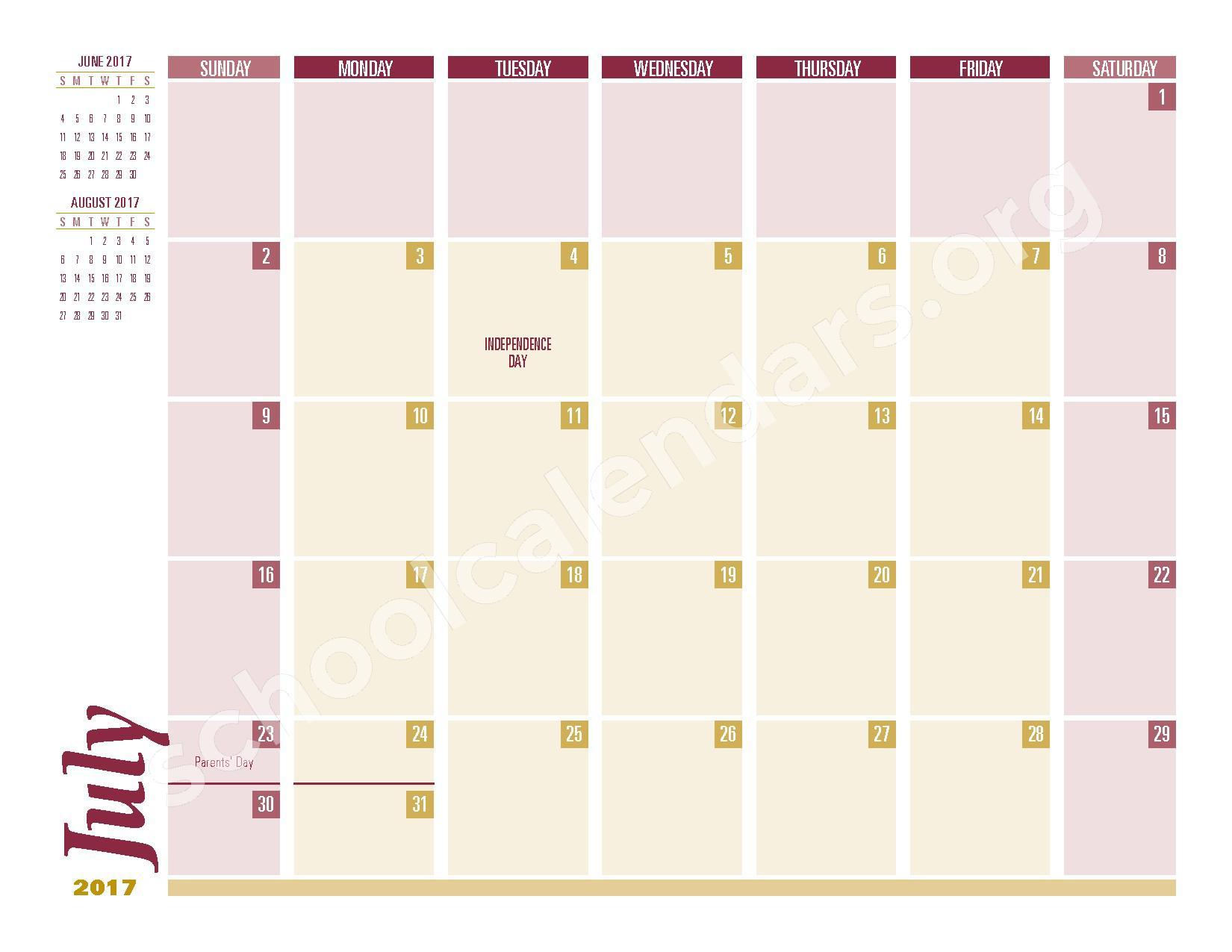 2016 - 2017 School Calendar – South Colonie Central School District – page 11