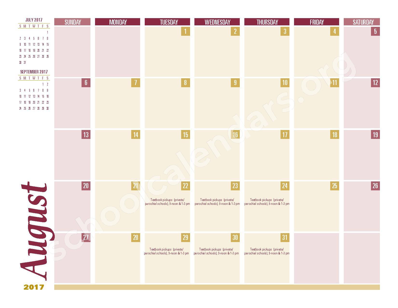 2016 - 2017 School Calendar – South Colonie Central School District – page 12