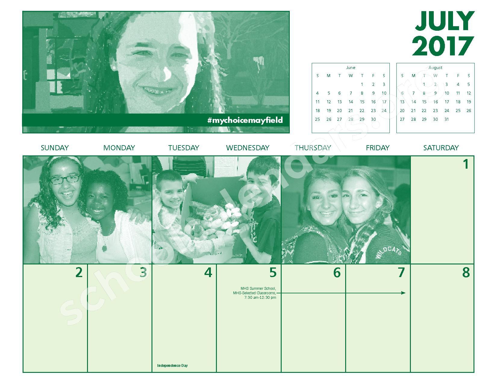 2016 - 2017 Mayfield Activities Calendar – Mayfield City Schools – page 28
