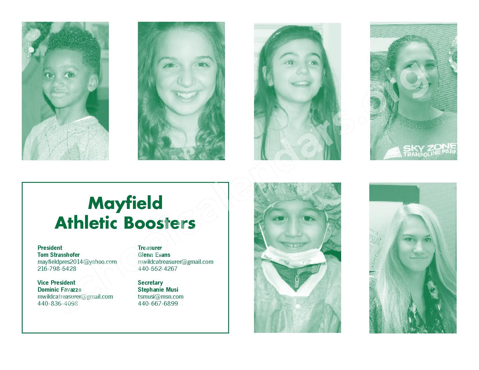 2016 - 2017 Mayfield Activities Calendar – Mayfield City Schools – page 38