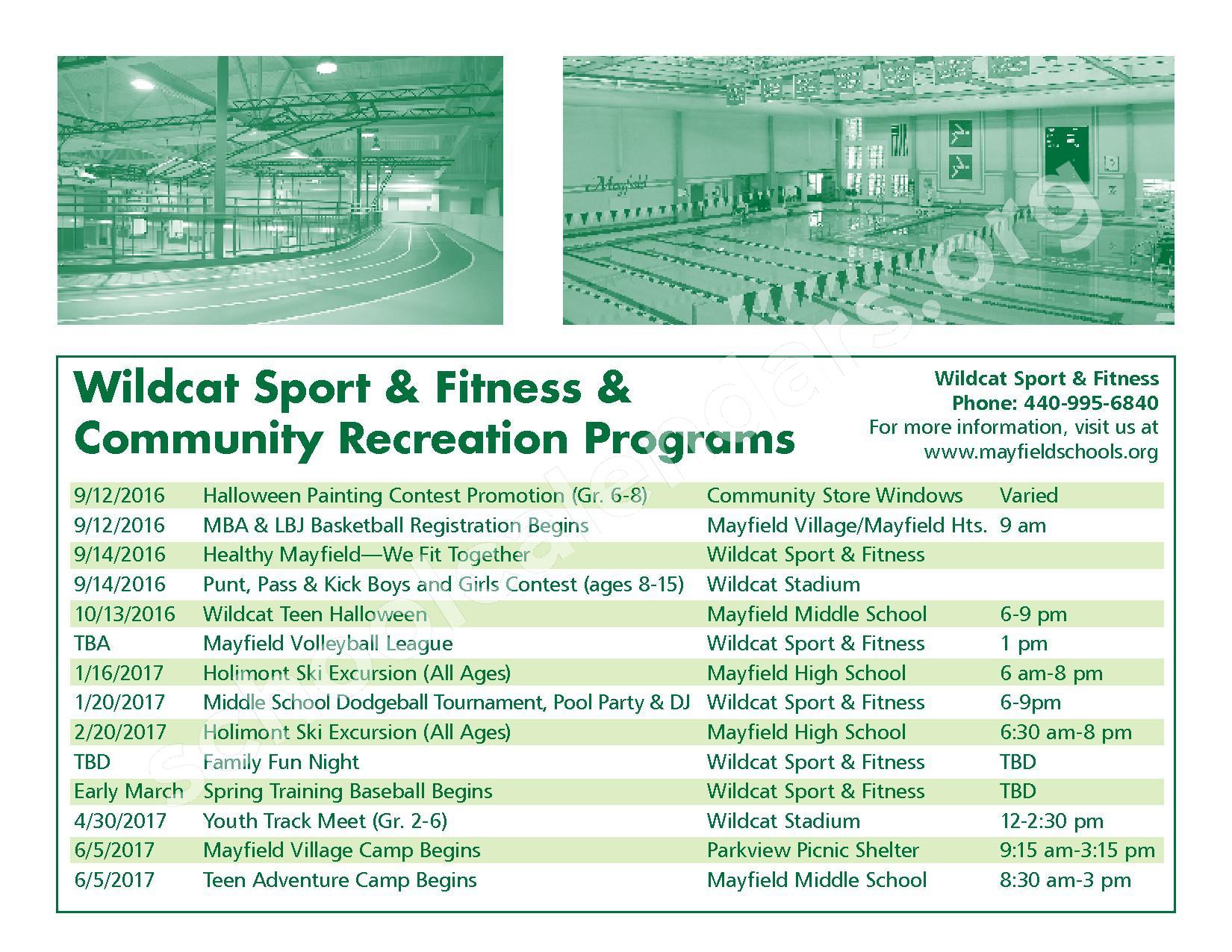 2016 - 2017 Mayfield Activities Calendar – Mayfield City Schools – page 47