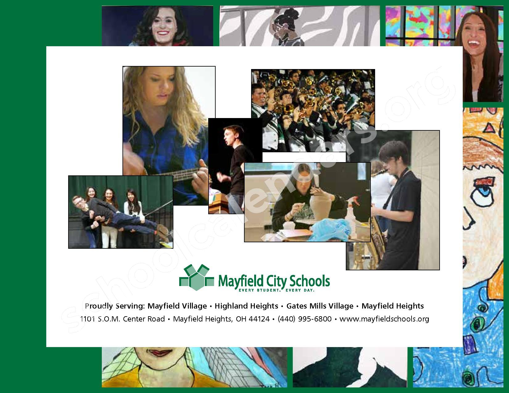 2016 - 2017 Mayfield Activities Calendar – Mayfield City Schools – page 48