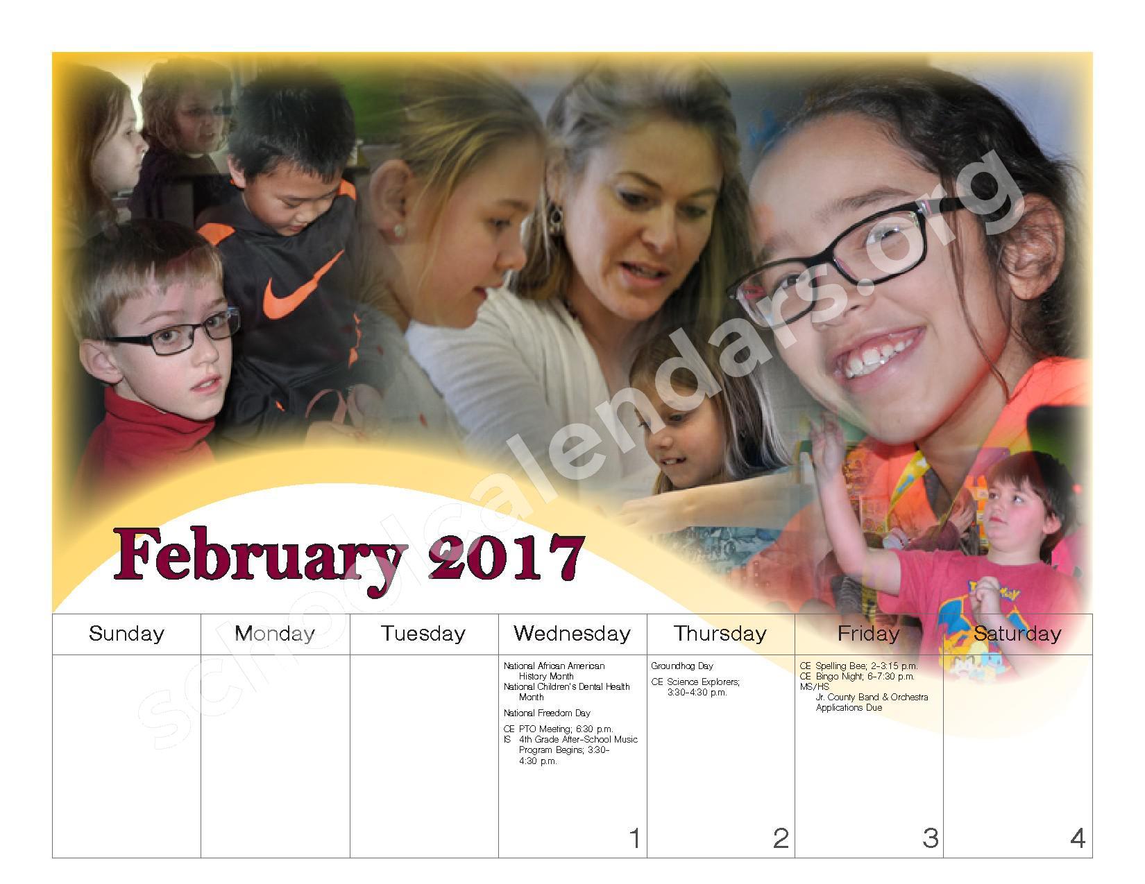 2016 - 2017 School Calendar – Governor Mifflin School District – page 15