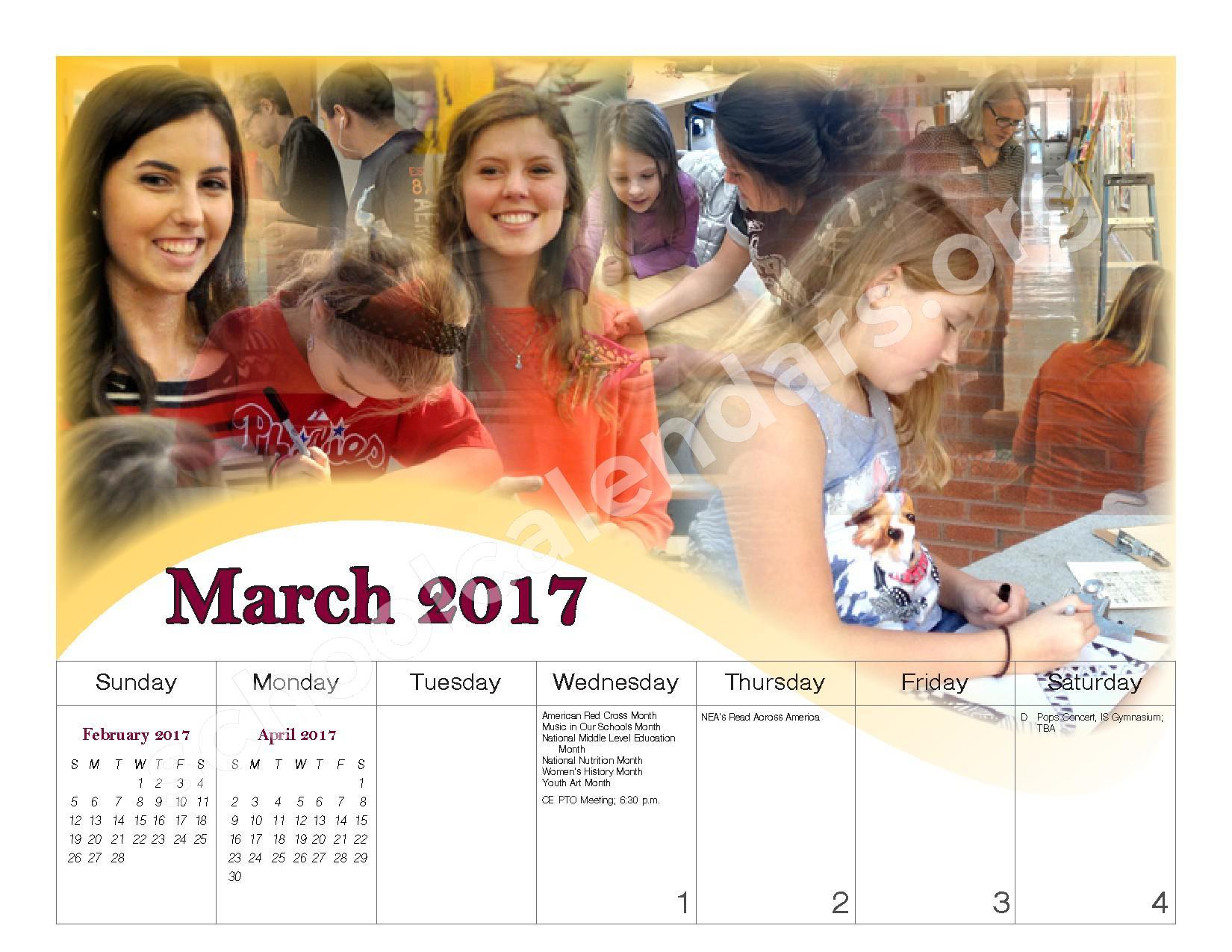 2016 - 2017 School Calendar – Governor Mifflin School District – page 17