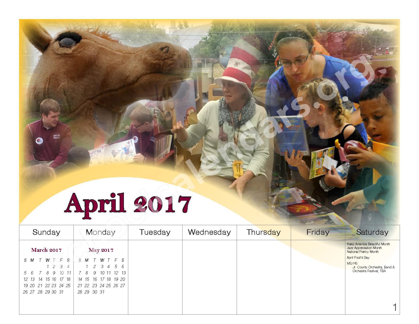 2016 - 2017 School Calendar – Governor Mifflin School District – page 19