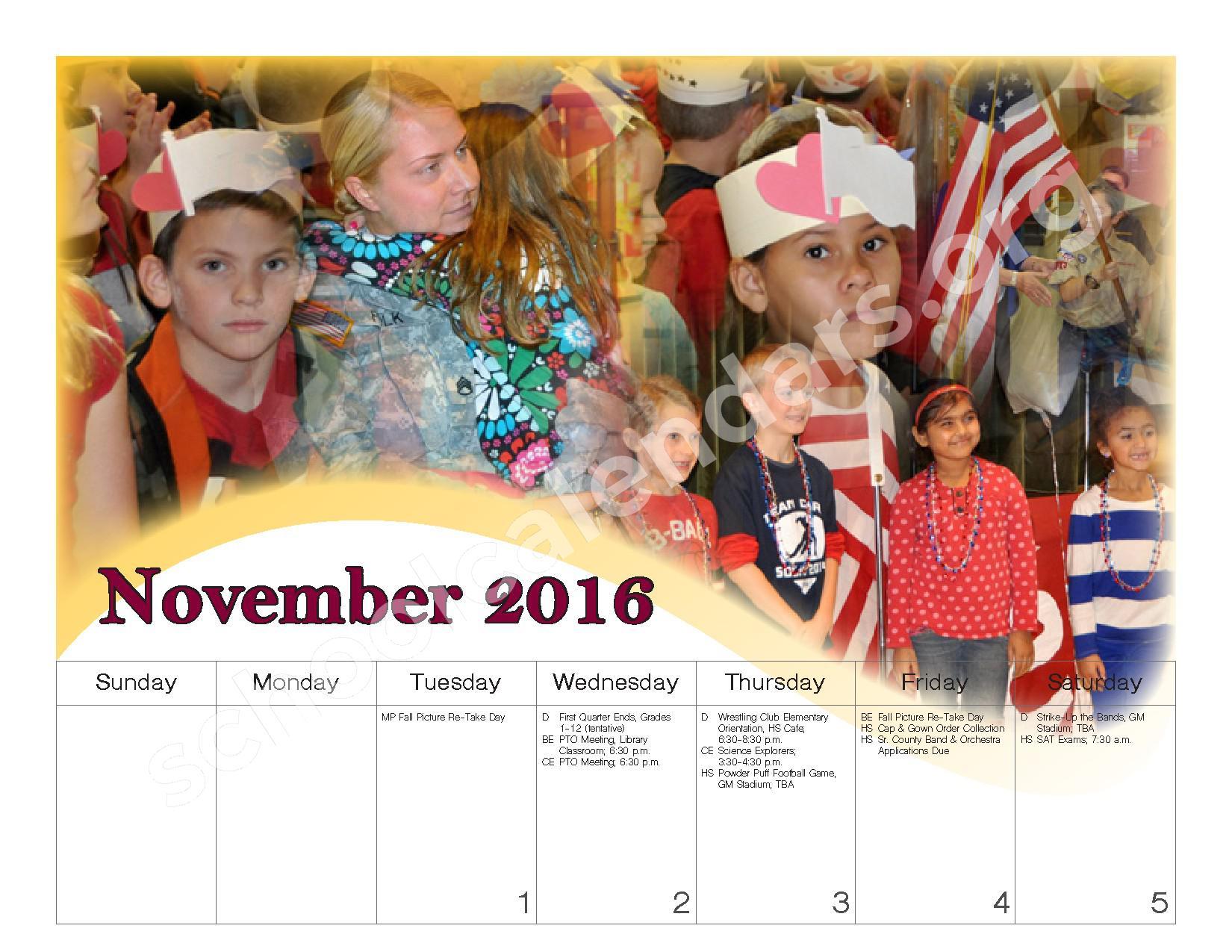 2016 - 2017 School Calendar – Governor Mifflin School District – page 9
