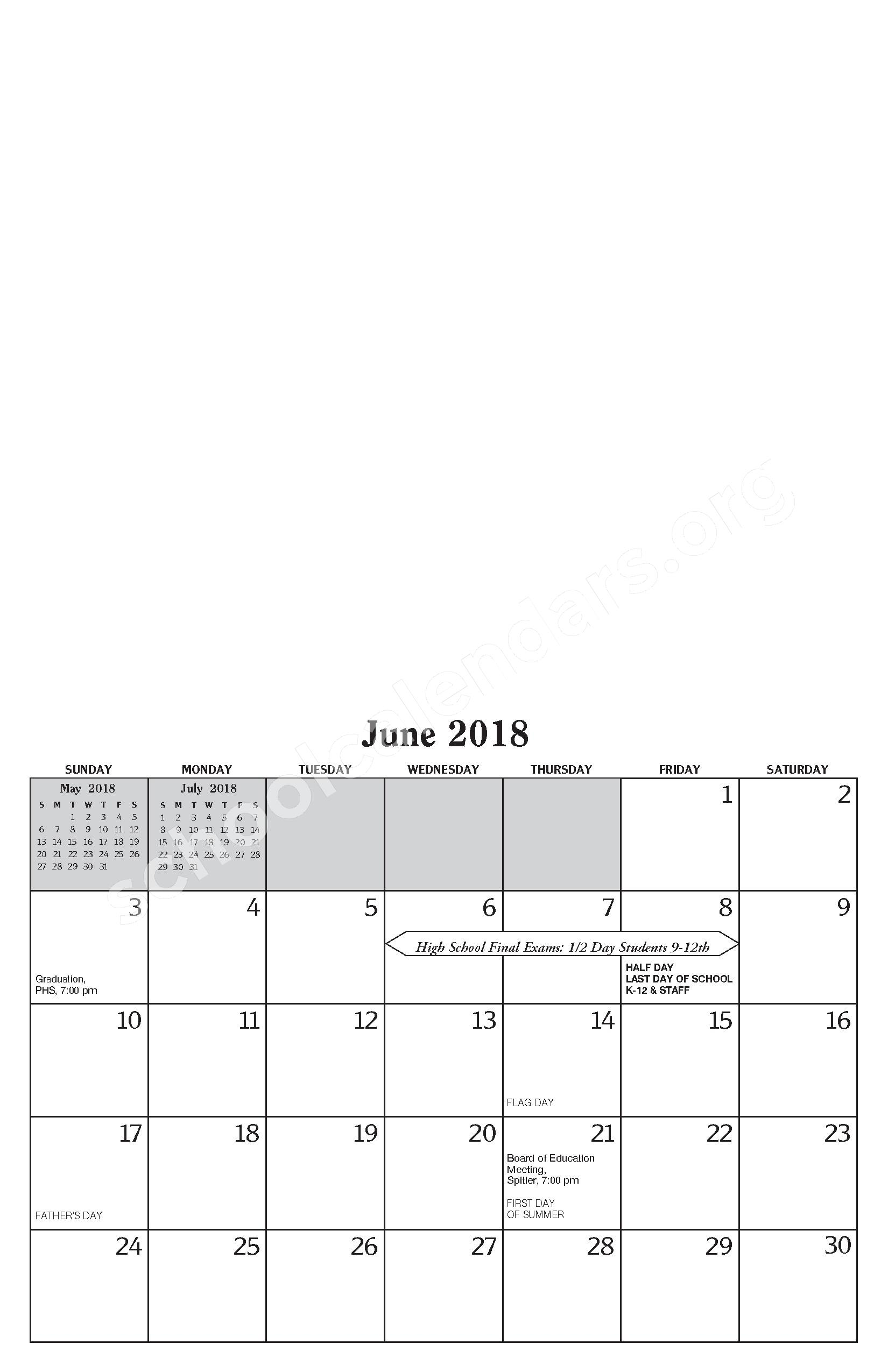 Annual Report & Calendar – Public Schools of Petoskey – page 23