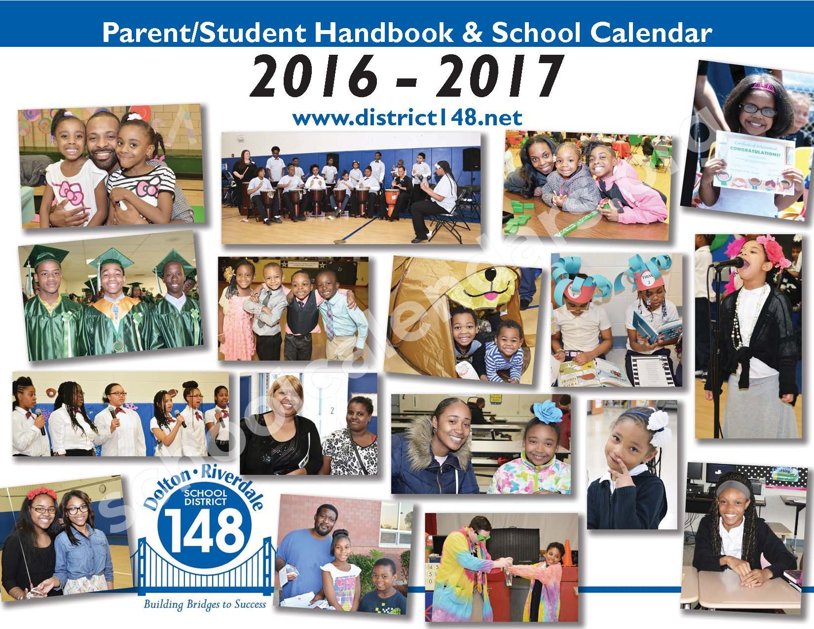 2016 - 2017 Parent/Student Handbook – Roosevelt Elementary School – page 1