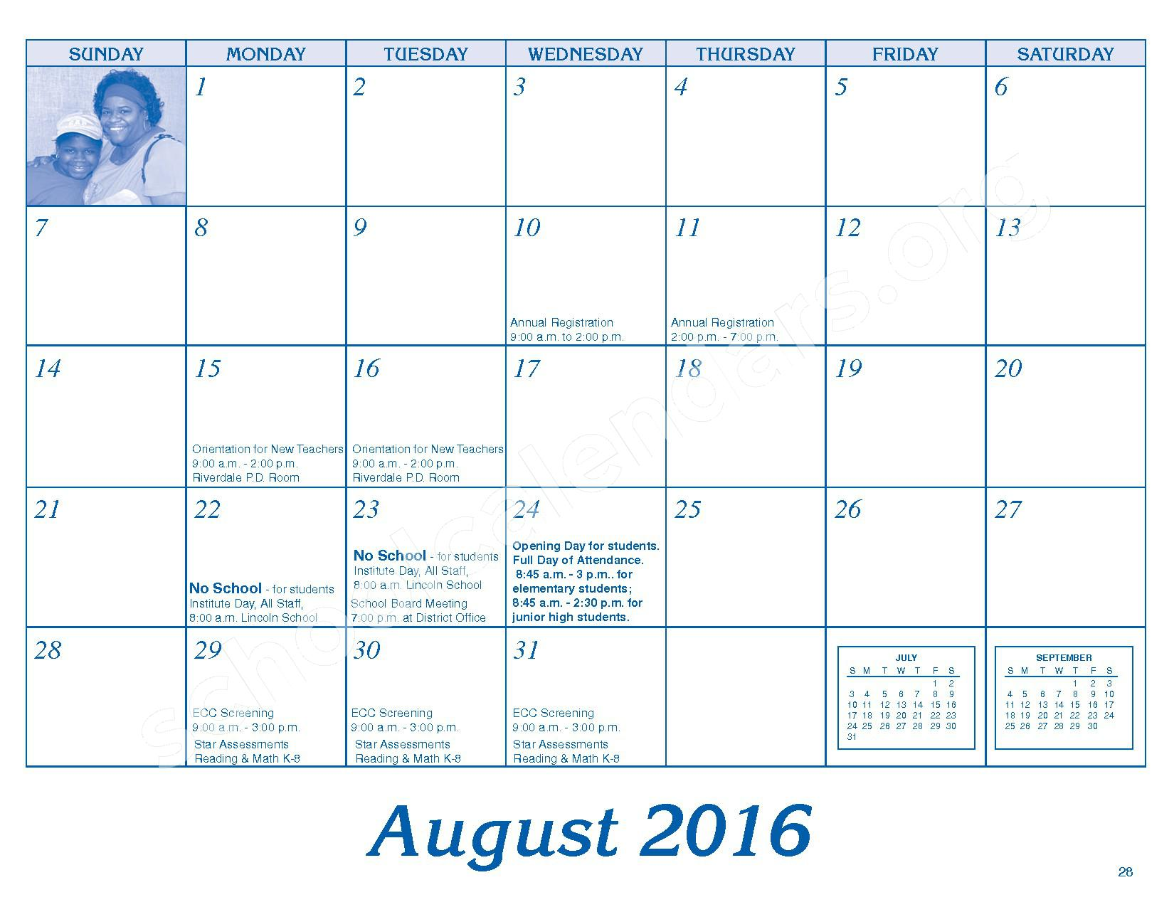 2016 - 2017 Parent/Student Handbook – Roosevelt Elementary School – page 32