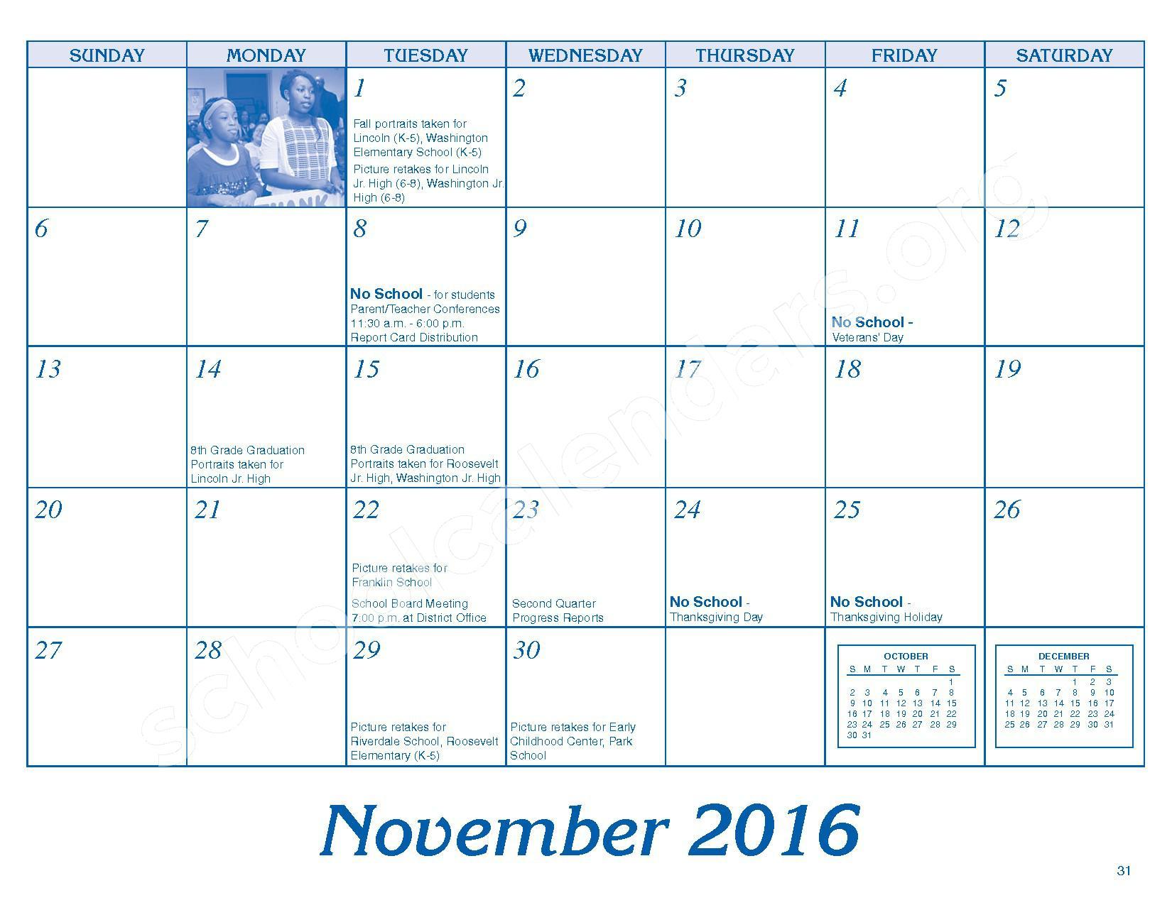 2016 - 2017 Parent/Student Handbook – Roosevelt Elementary School – page 35