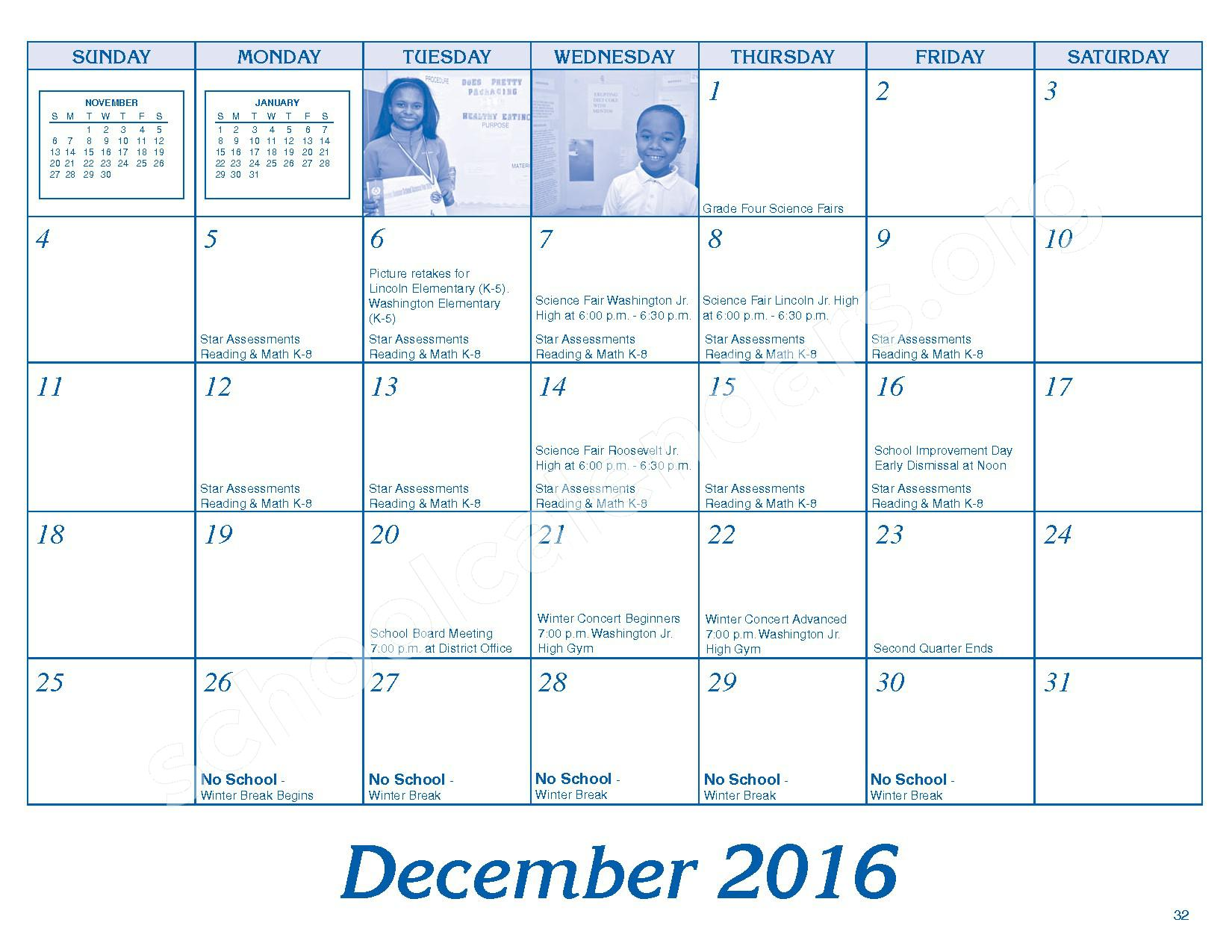 2016 - 2017 Parent/Student Handbook – Roosevelt Elementary School – page 36