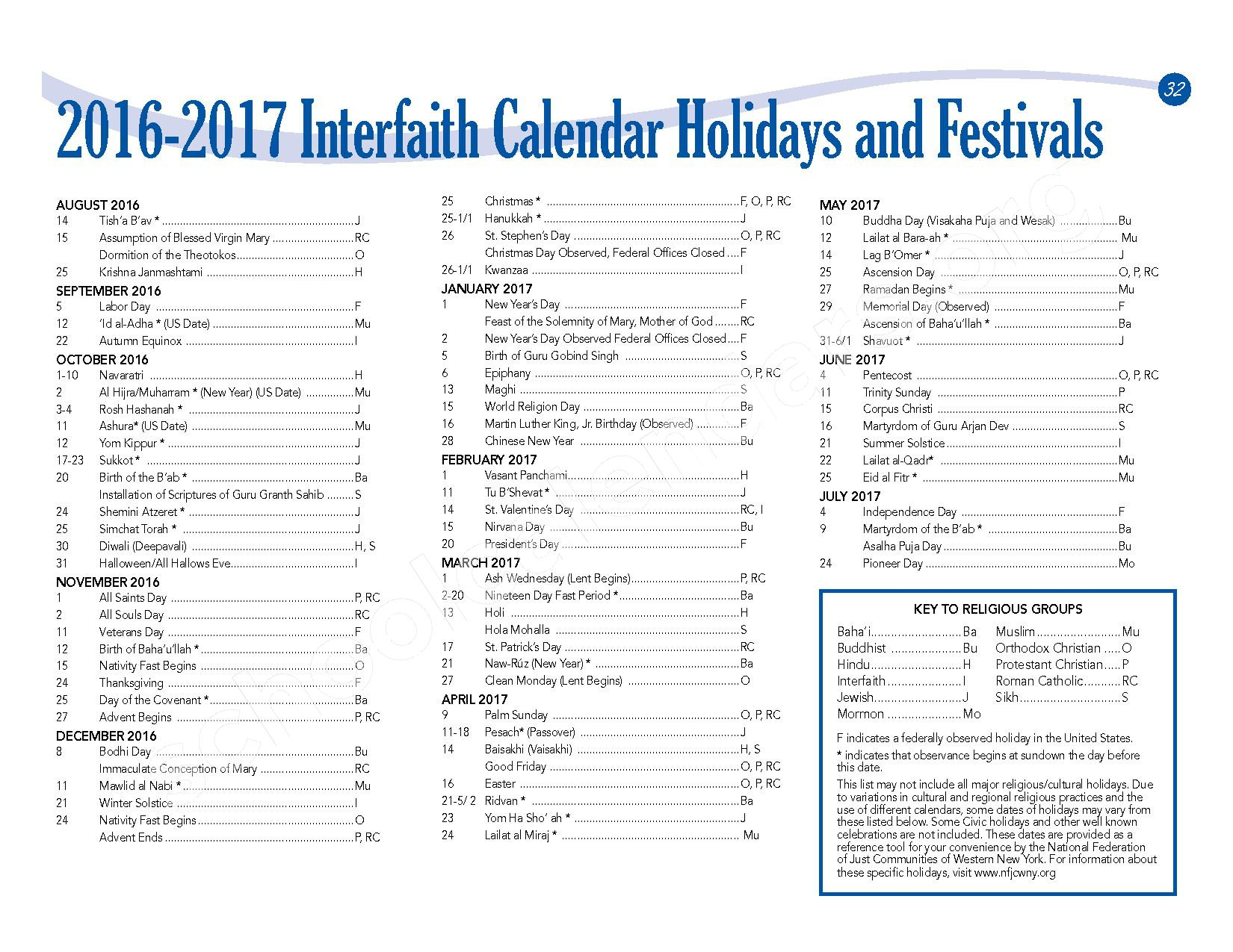 2016 - 2017 School Calendar – Lackawanna City School District – page 34