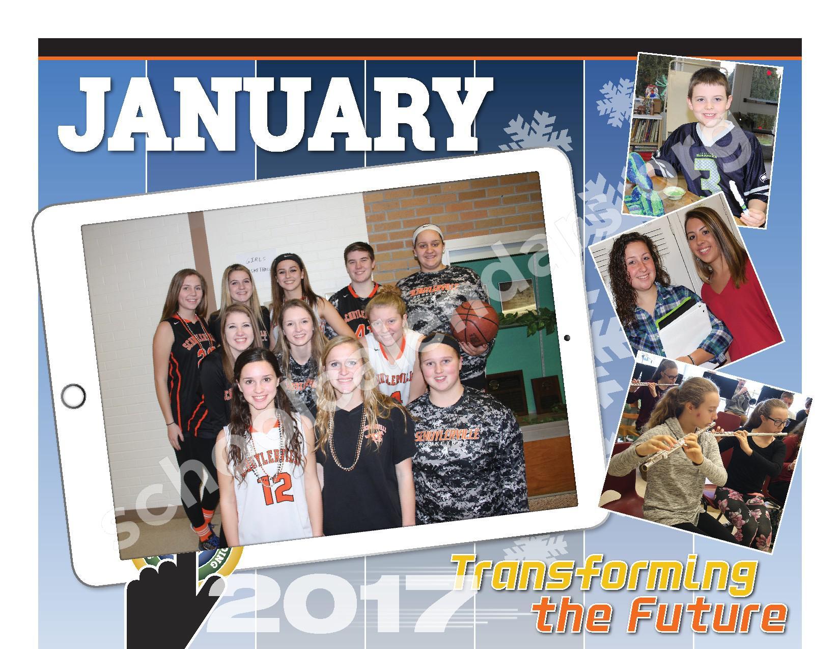 2016 - 2017  District Calendar – Schuylerville Central School District – page 10