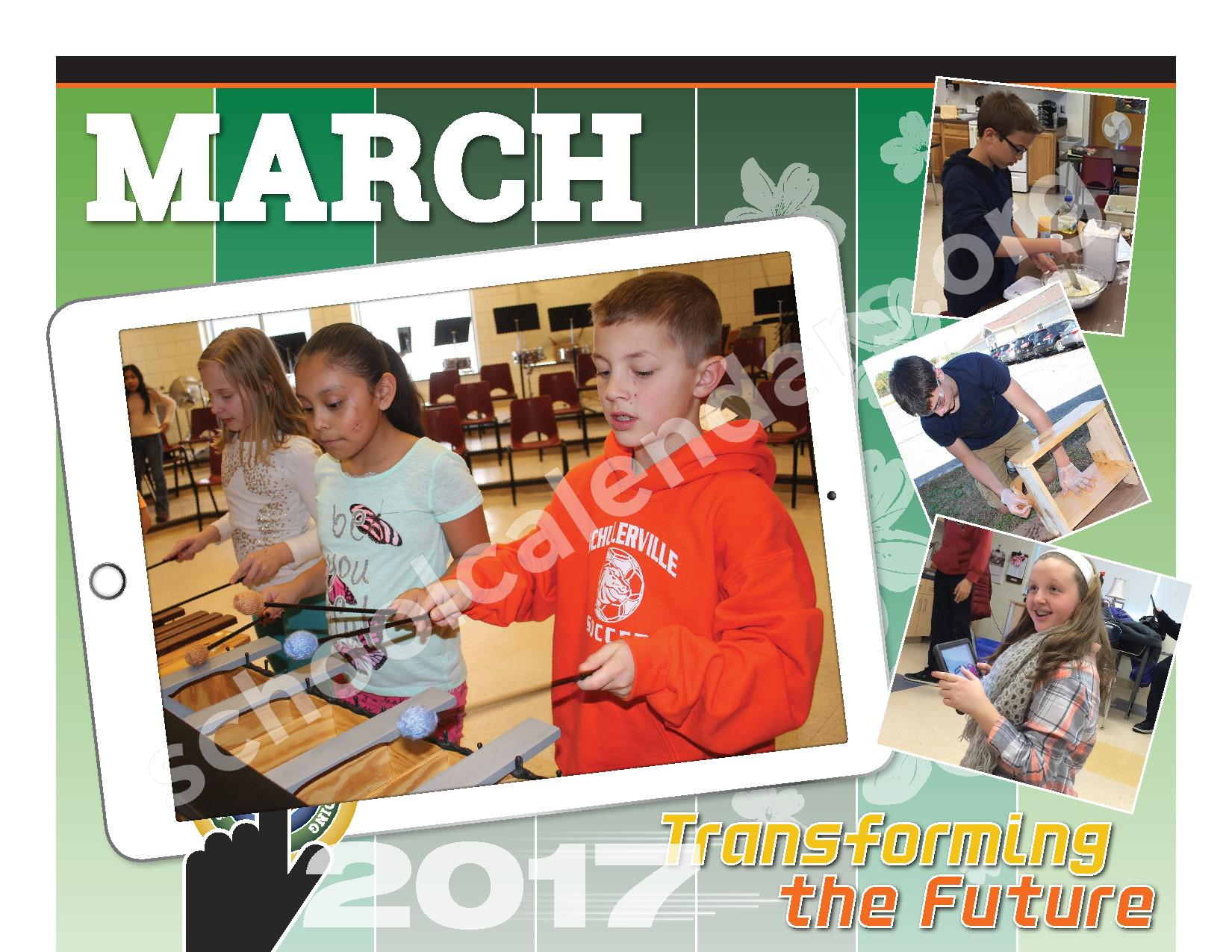 2016 - 2017  District Calendar – Schuylerville Central School District – page 14
