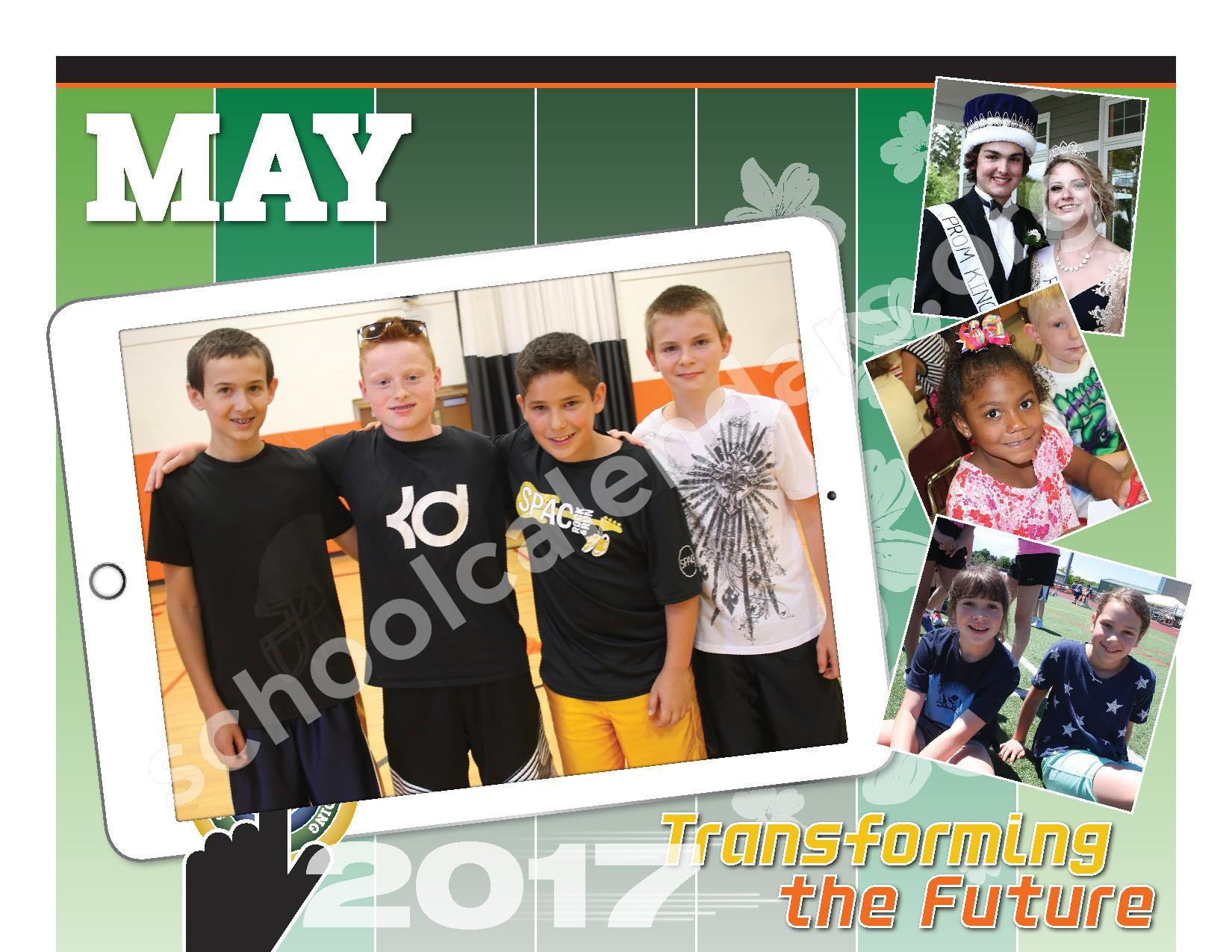 2016 - 2017  District Calendar – Schuylerville Central School District – page 18