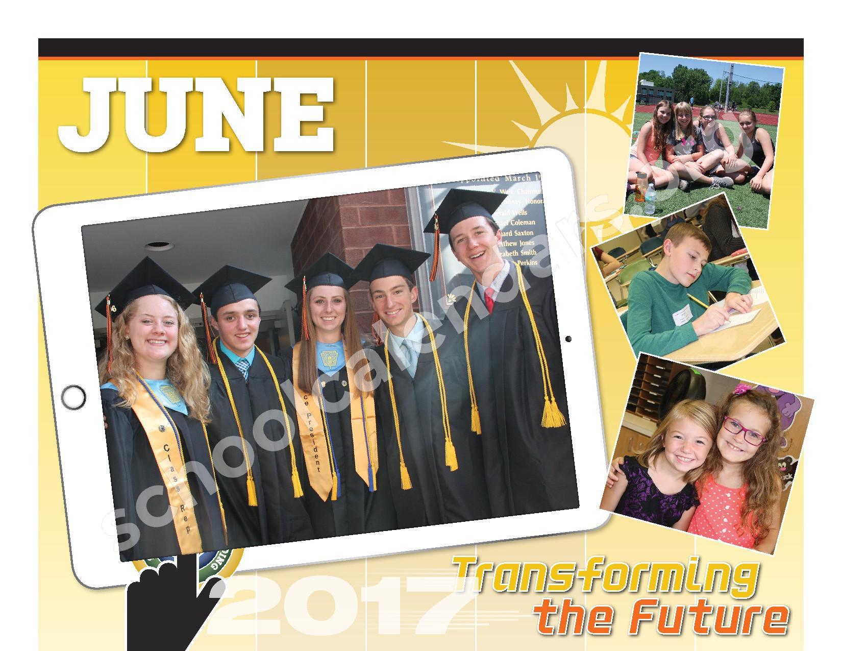 2016 - 2017  District Calendar – Schuylerville Central School District – page 20