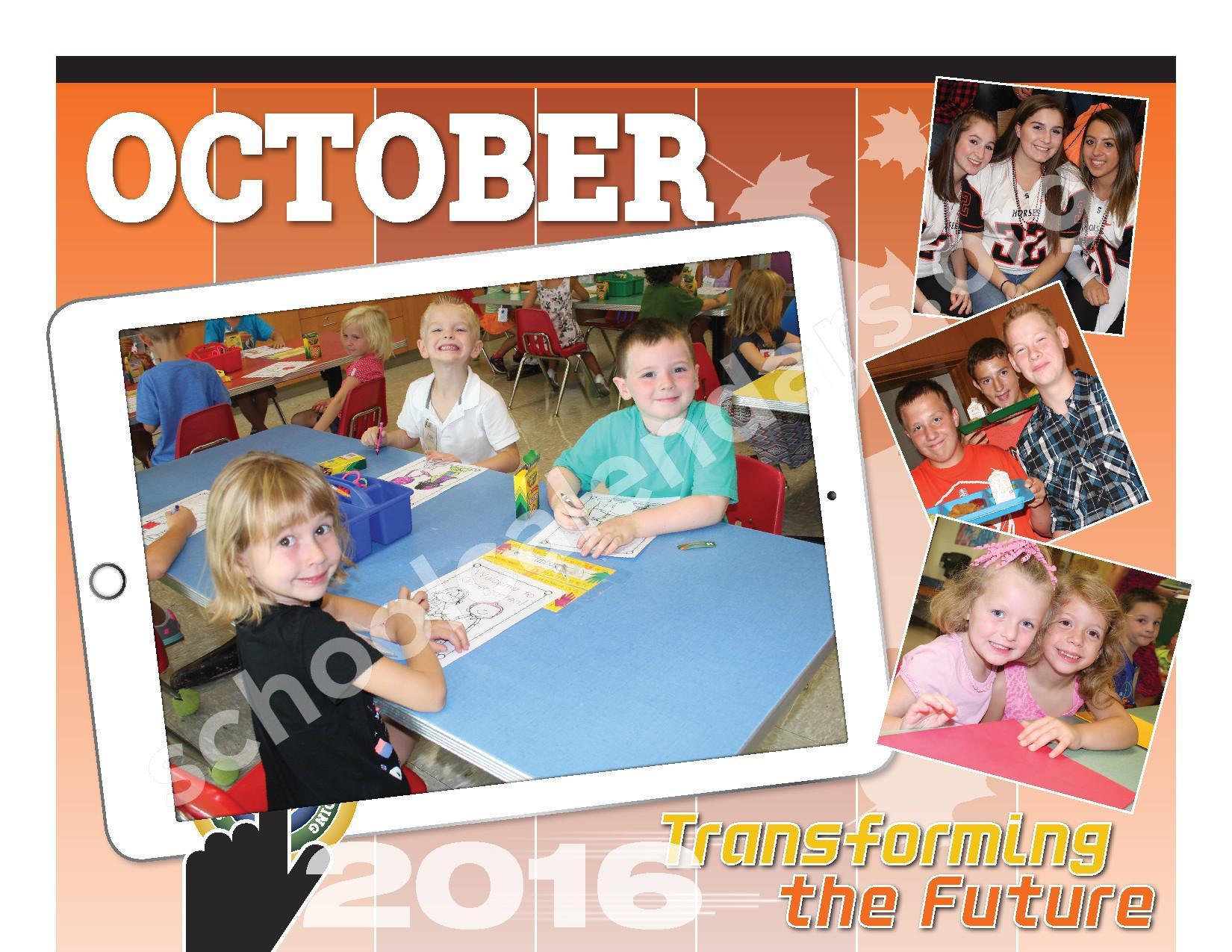 2016 - 2017  District Calendar – Schuylerville Central School District – page 4