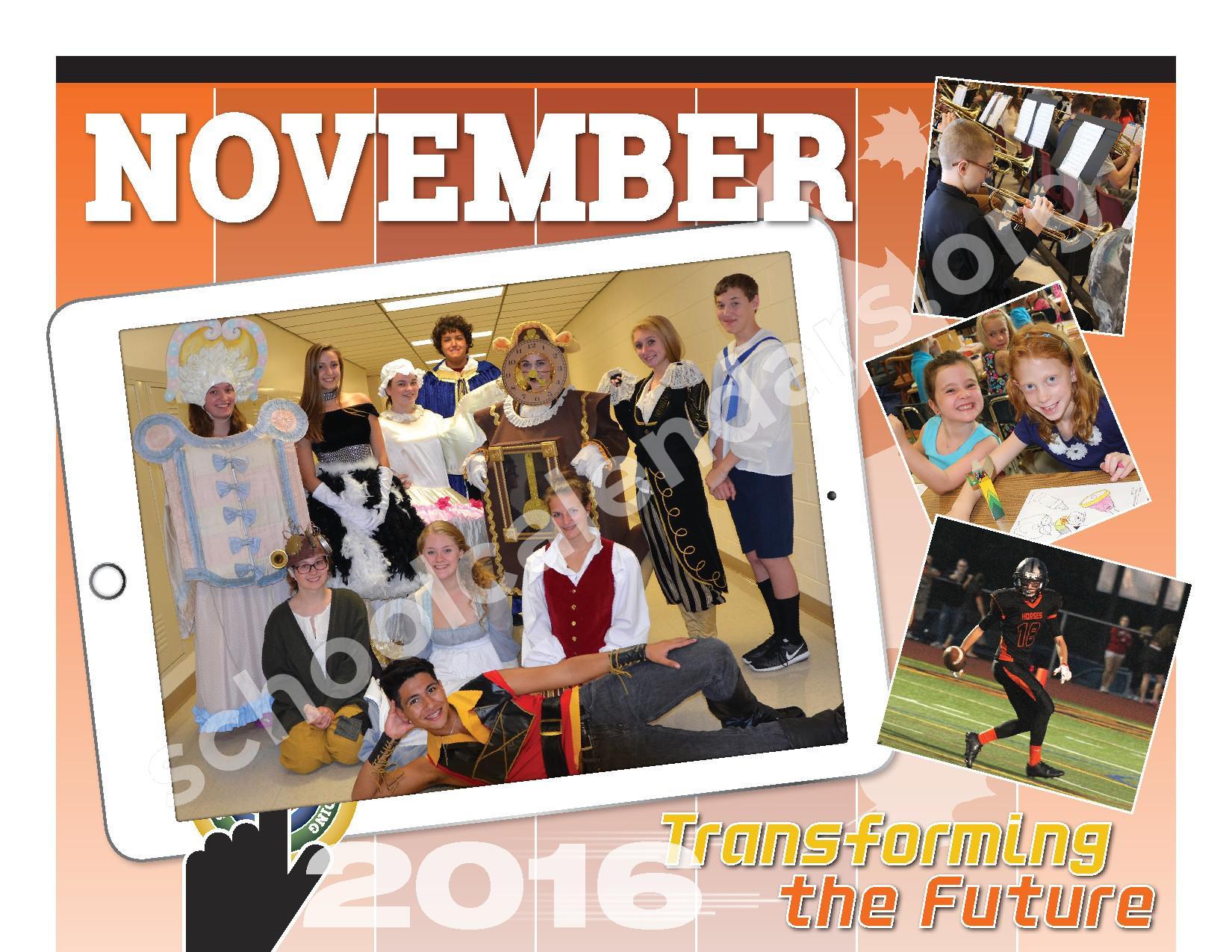 2016 - 2017  District Calendar – Schuylerville Central School District – page 6