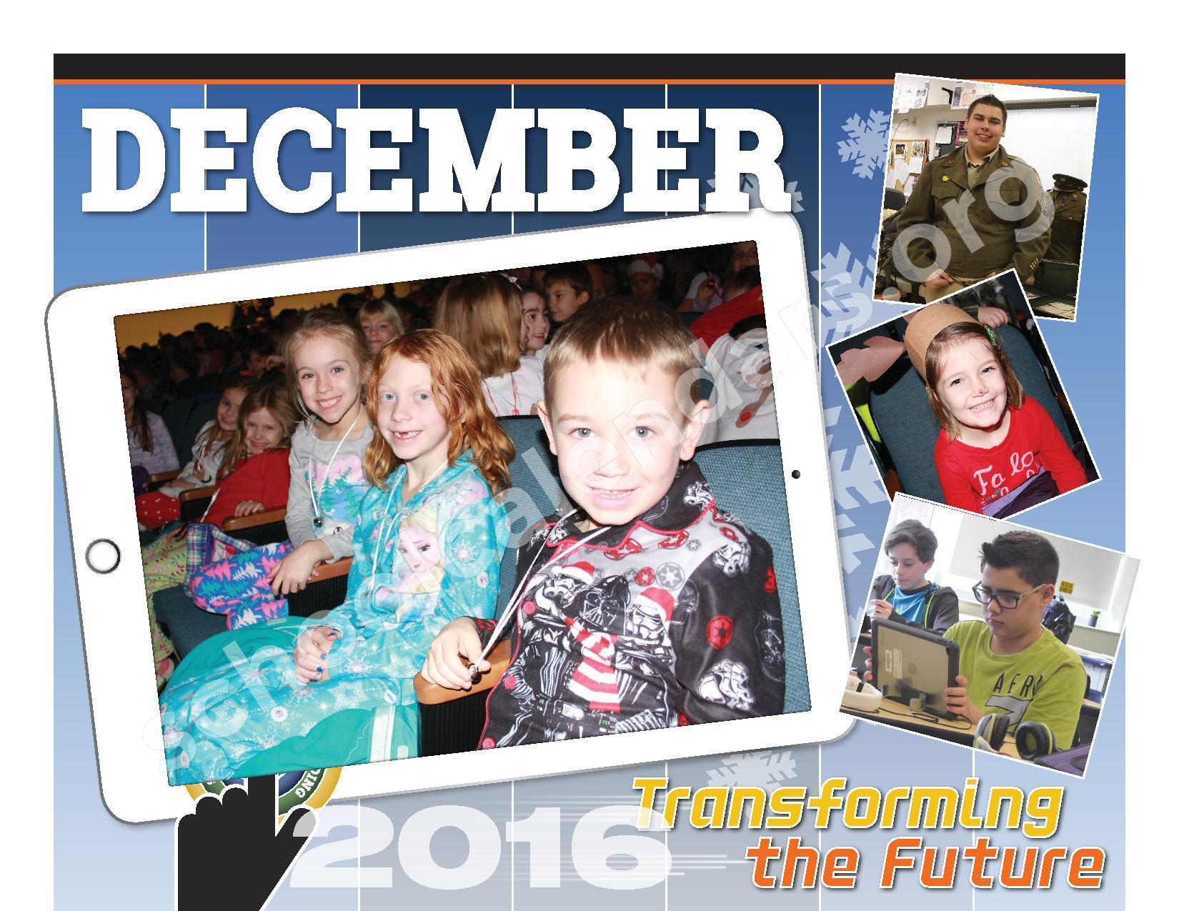 2016 - 2017  District Calendar – Schuylerville Central School District – page 8