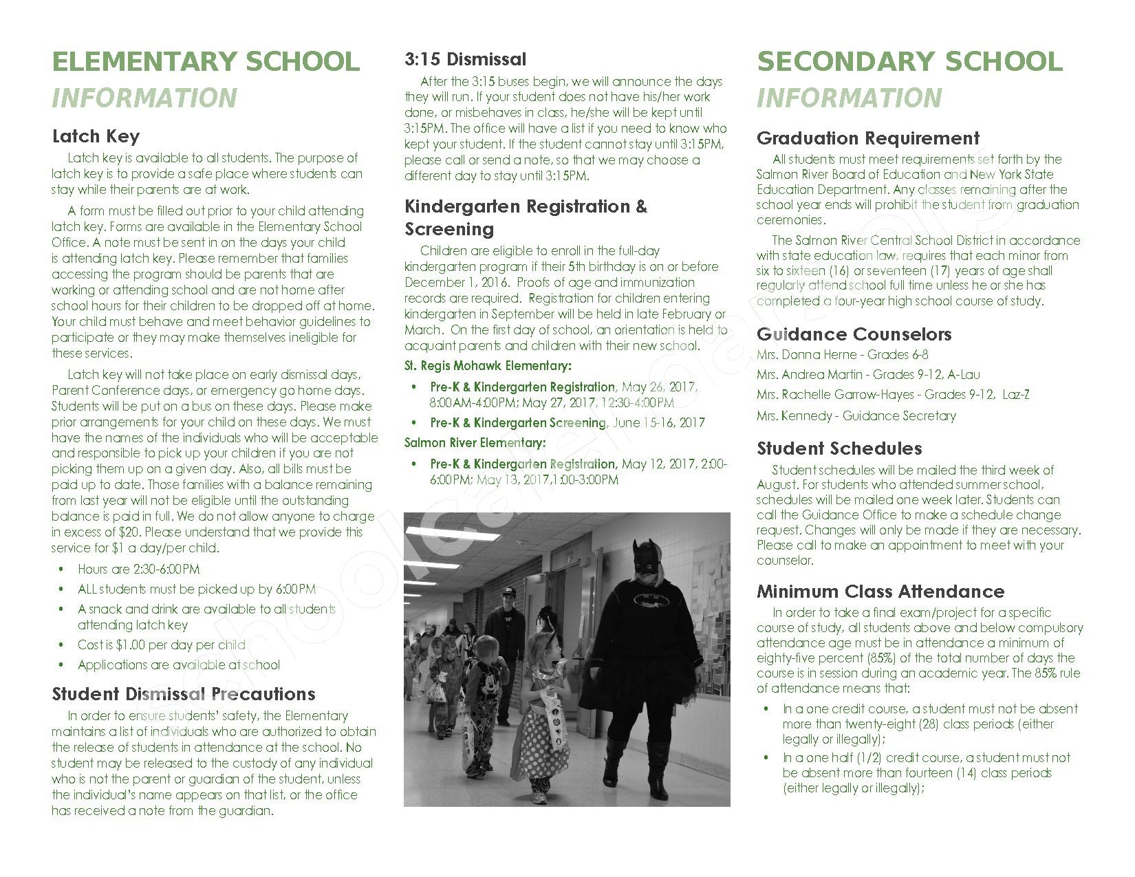 2016 - 2017 School Calendar – Salmon River Central School District – page 34