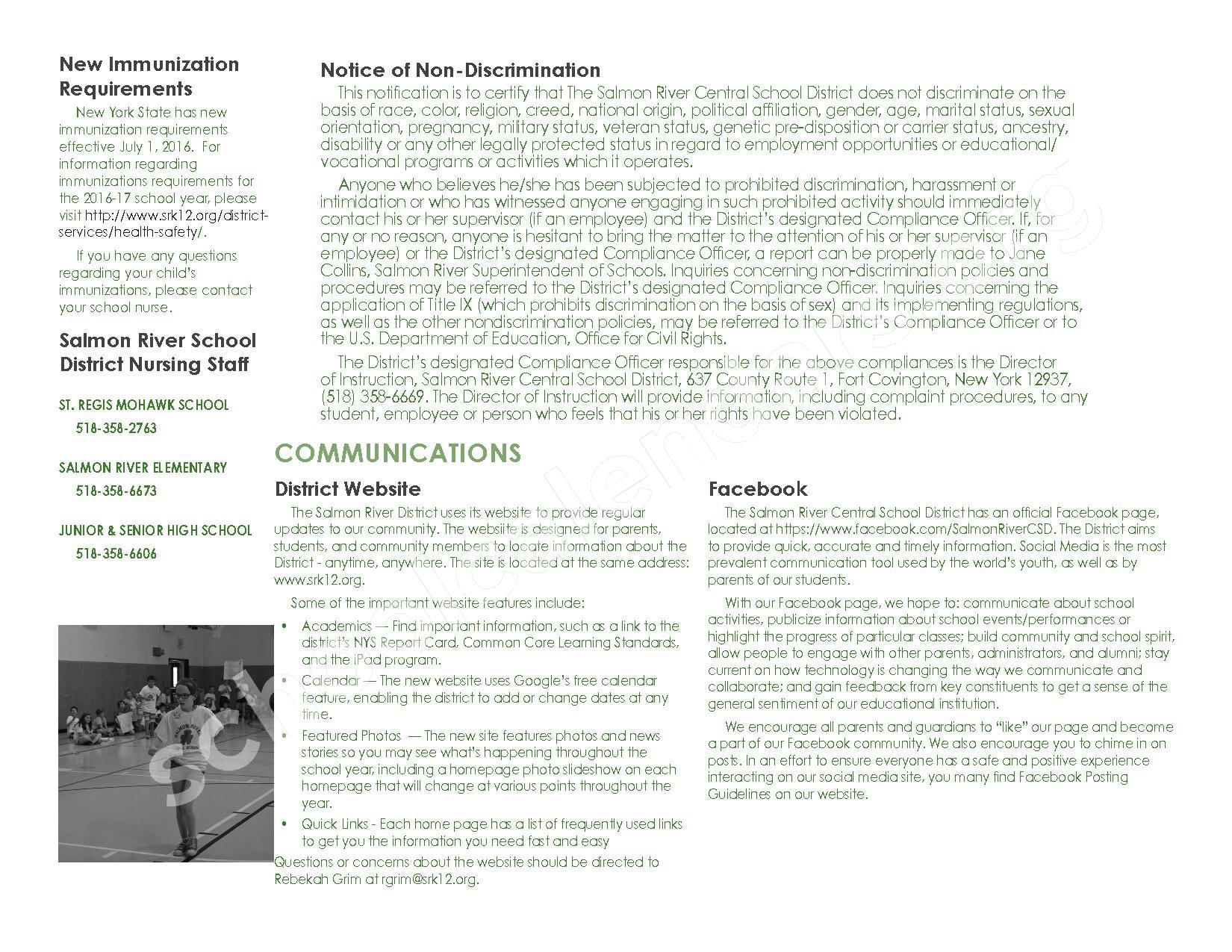 2016 - 2017 School Calendar – Salmon River Central School District – page 39