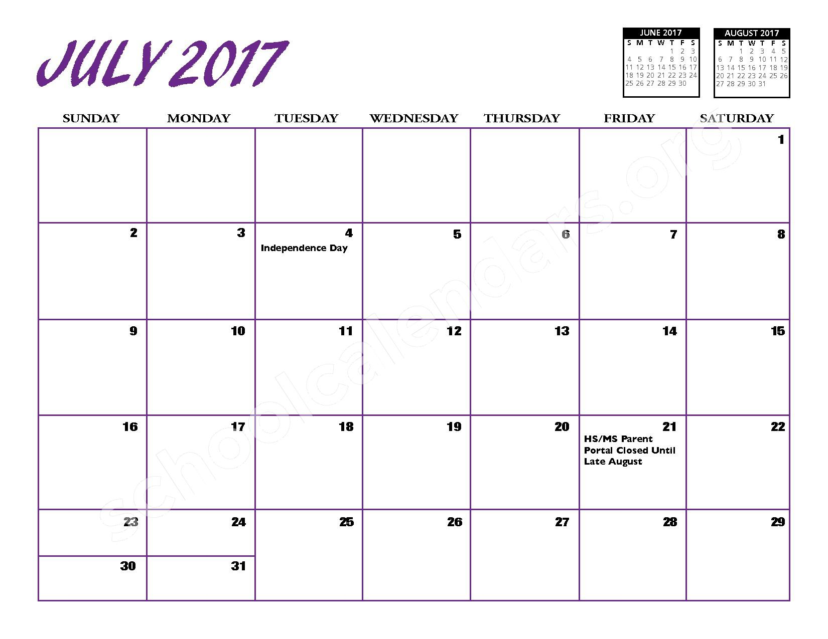 2016 - 2017 District Calendar – Port Jefferson Union Free School District – page 14