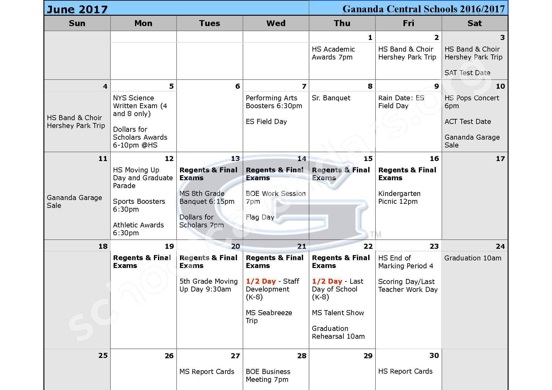 2016 - 2017 School Calendar – Ruben A Cirillo High School – page 11