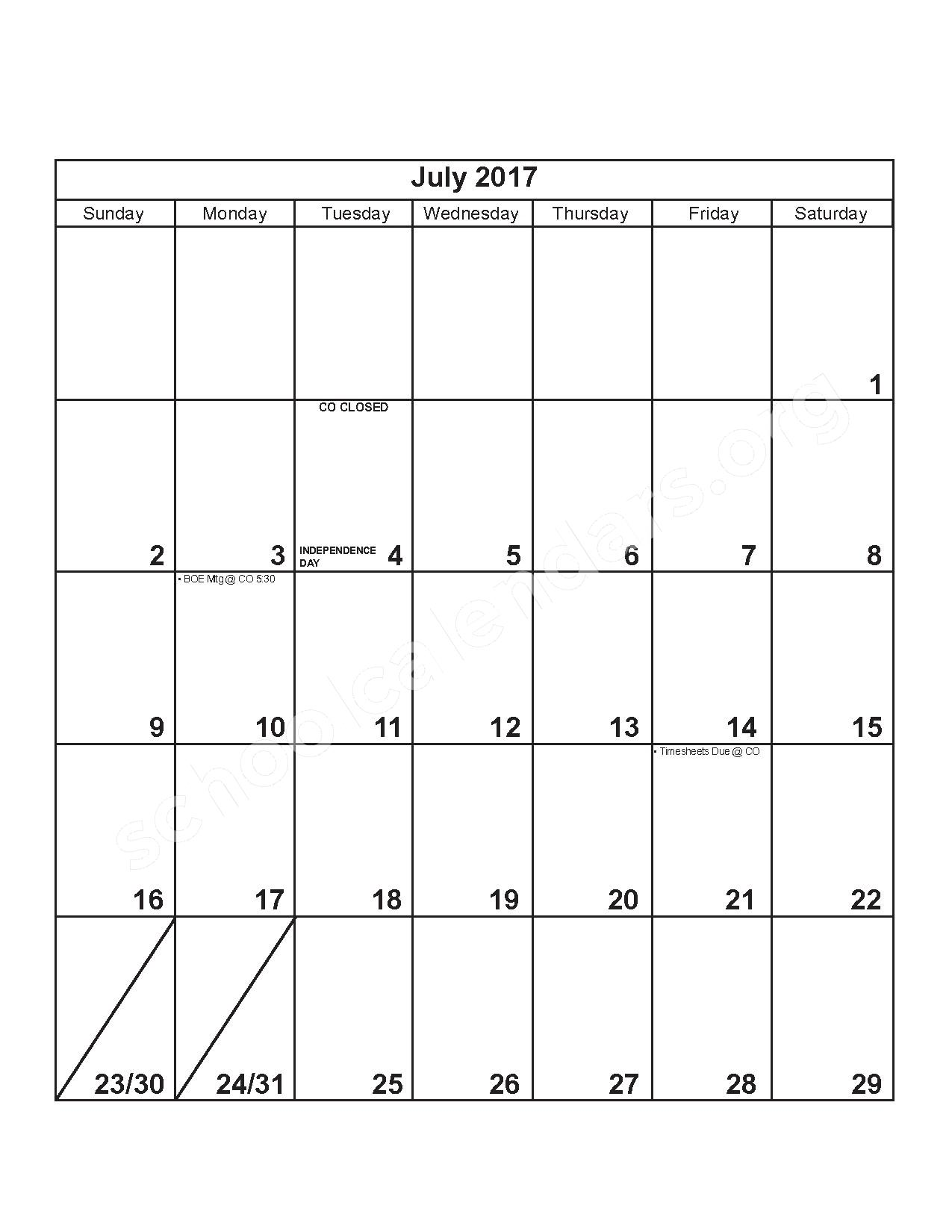 2016 - 2017 District Calendar – Russell County Schools USD 407 – page 13