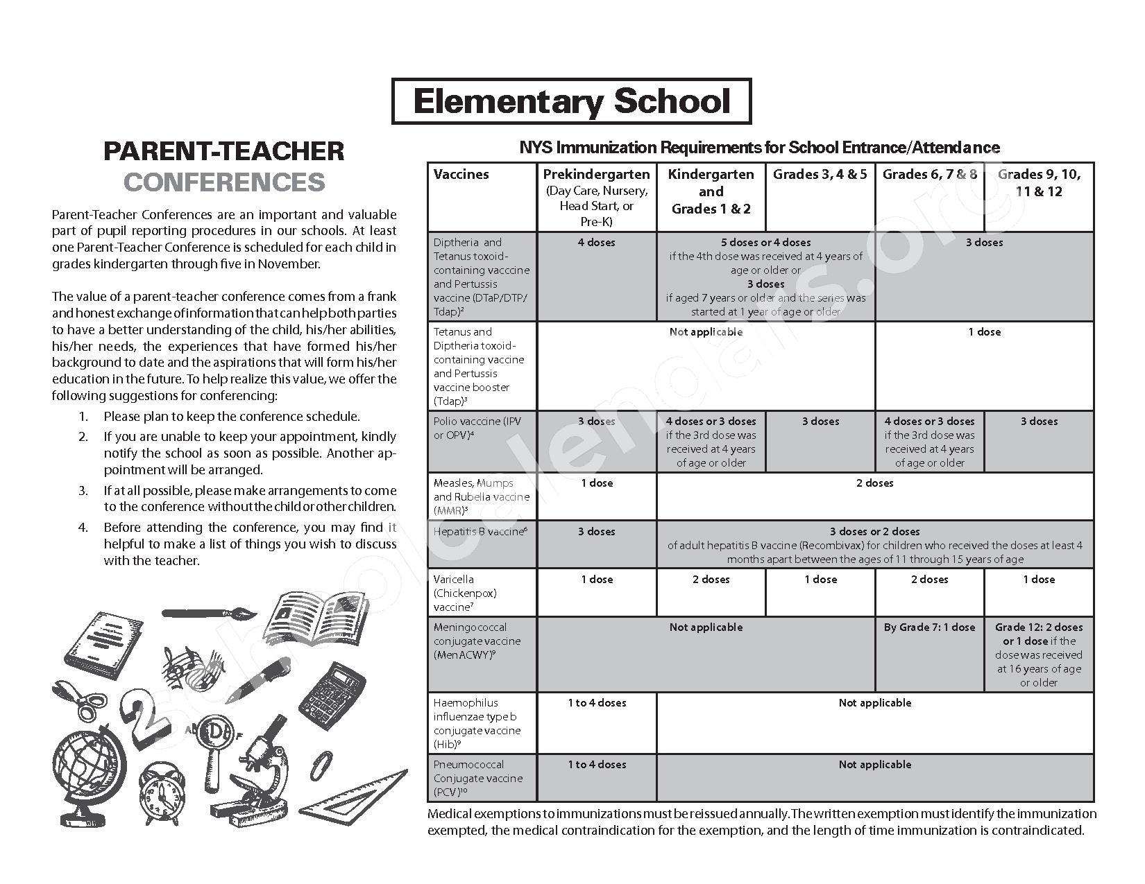 2016 - 2017 School Calendar – West Canada Valley Central School District – page 14