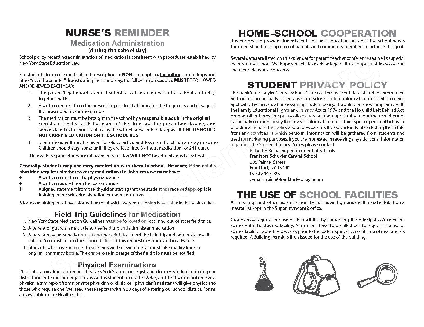 2016 - 2017 School Calendar – West Canada Valley Central School District – page 18