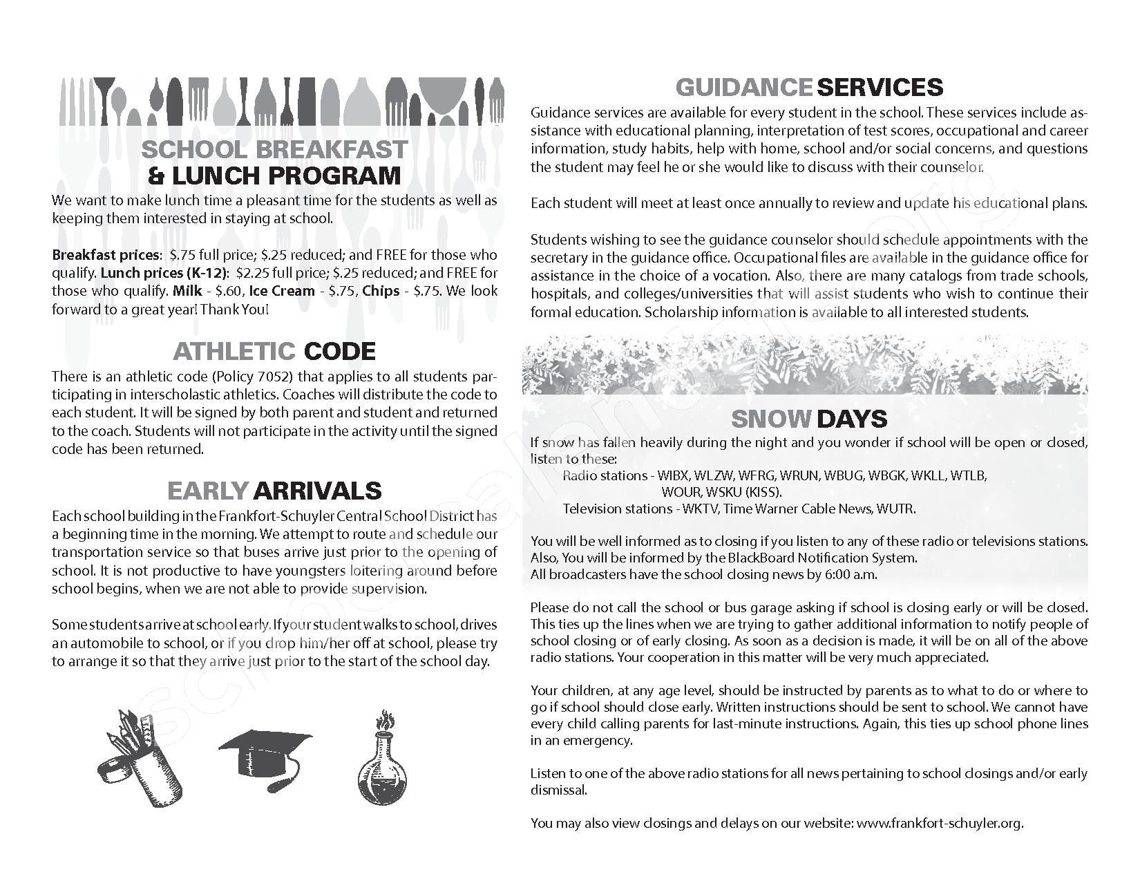 2016 - 2017 School Calendar – West Canada Valley Central School District – page 6