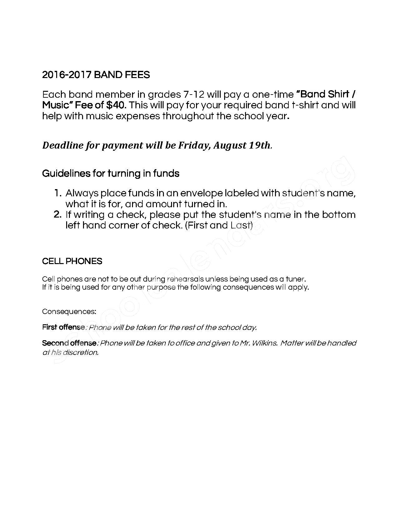 2016 - 2017 District Calendar – Dale Public Schools – page 6